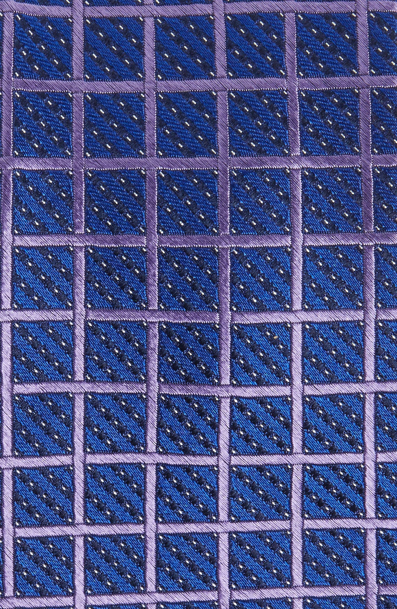 Alternate Image 2  - Nordstrom Men's Shop Tattersall Silk Tie
