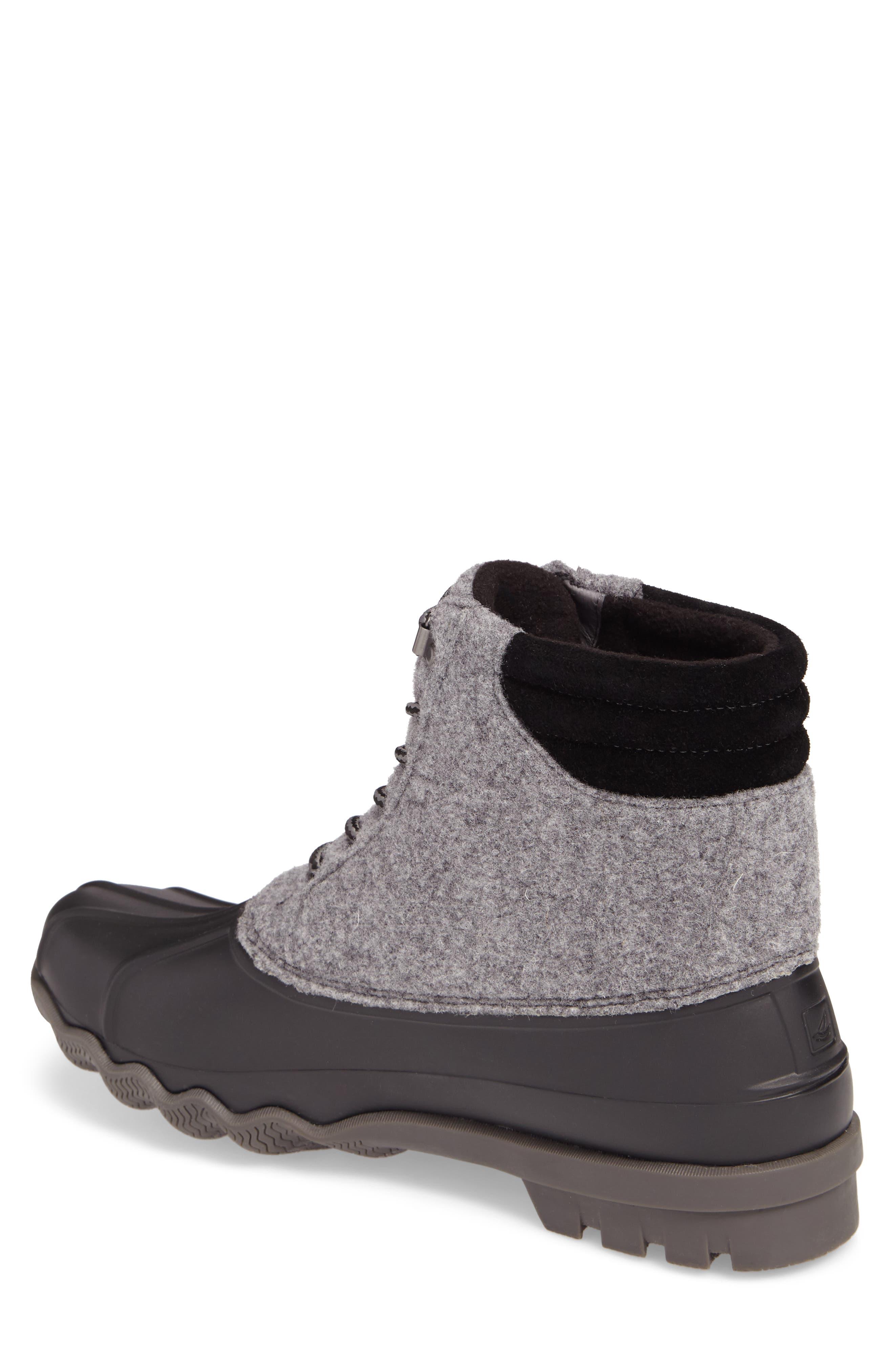 Avenue Rain Boot,                             Alternate thumbnail 2, color,                             Grey Leather