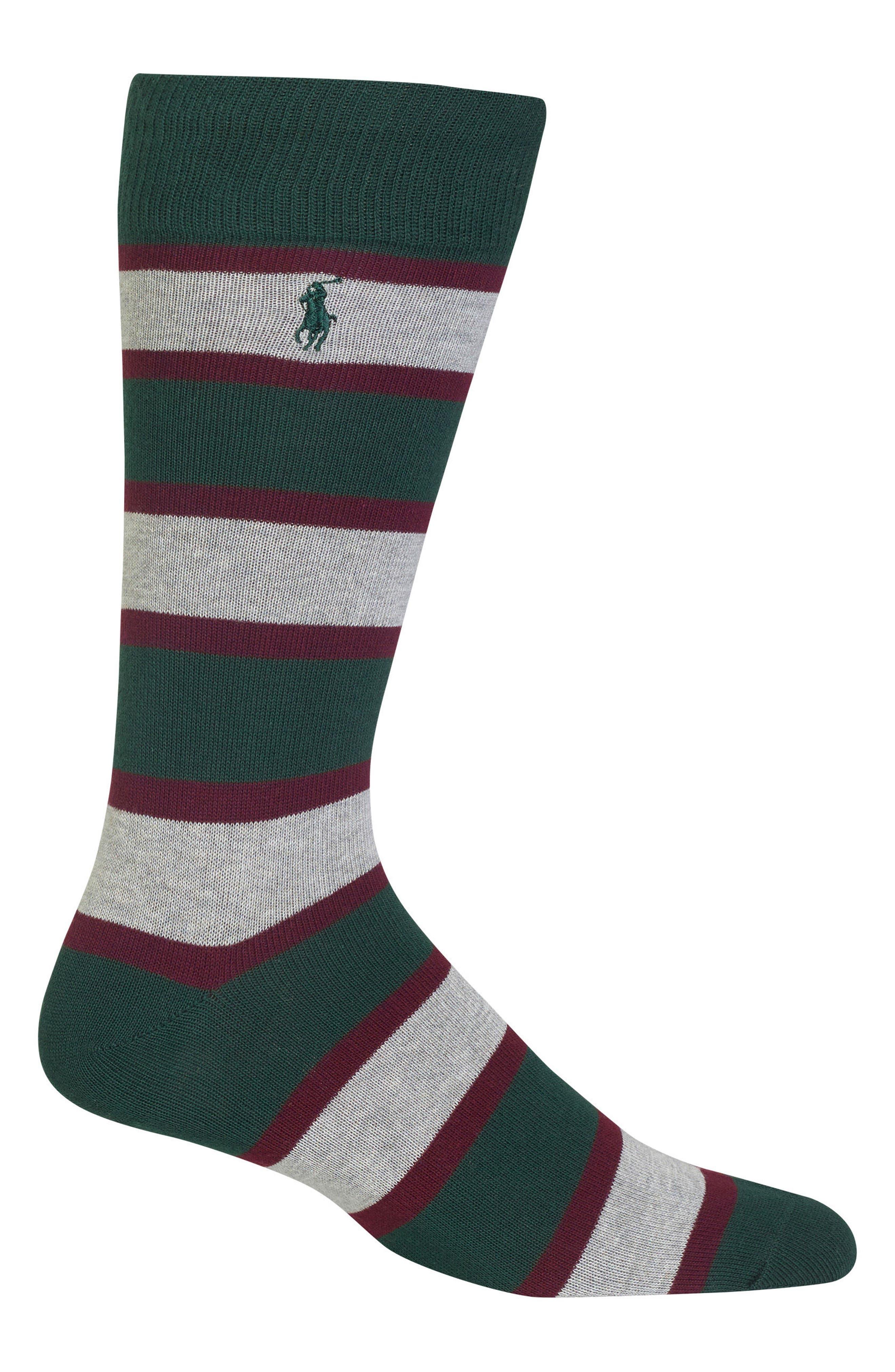 Varsity Stripe,                         Main,                         color, Pine