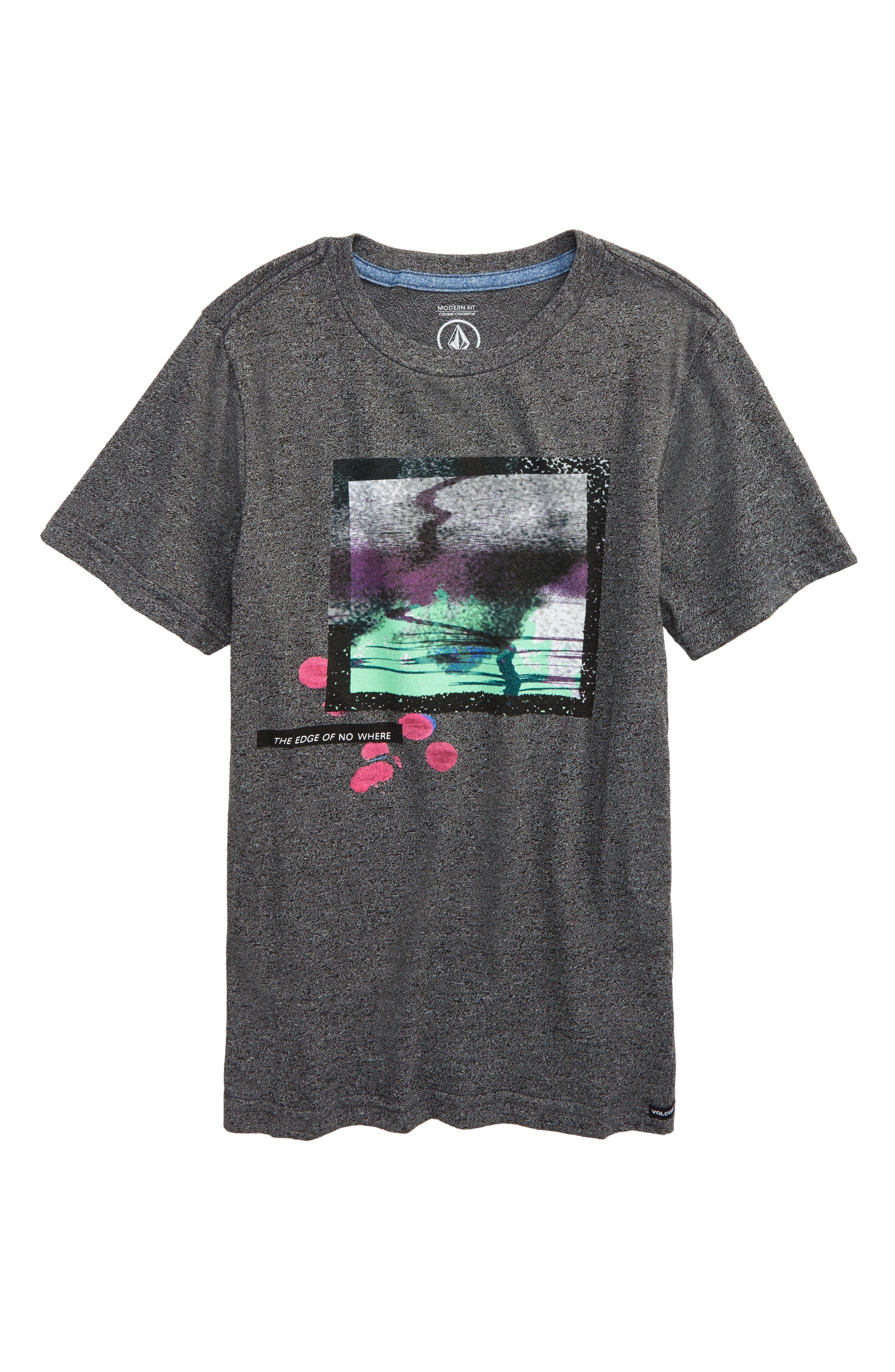 TV Mag T-Shirt,                         Main,                         color, Heather Black