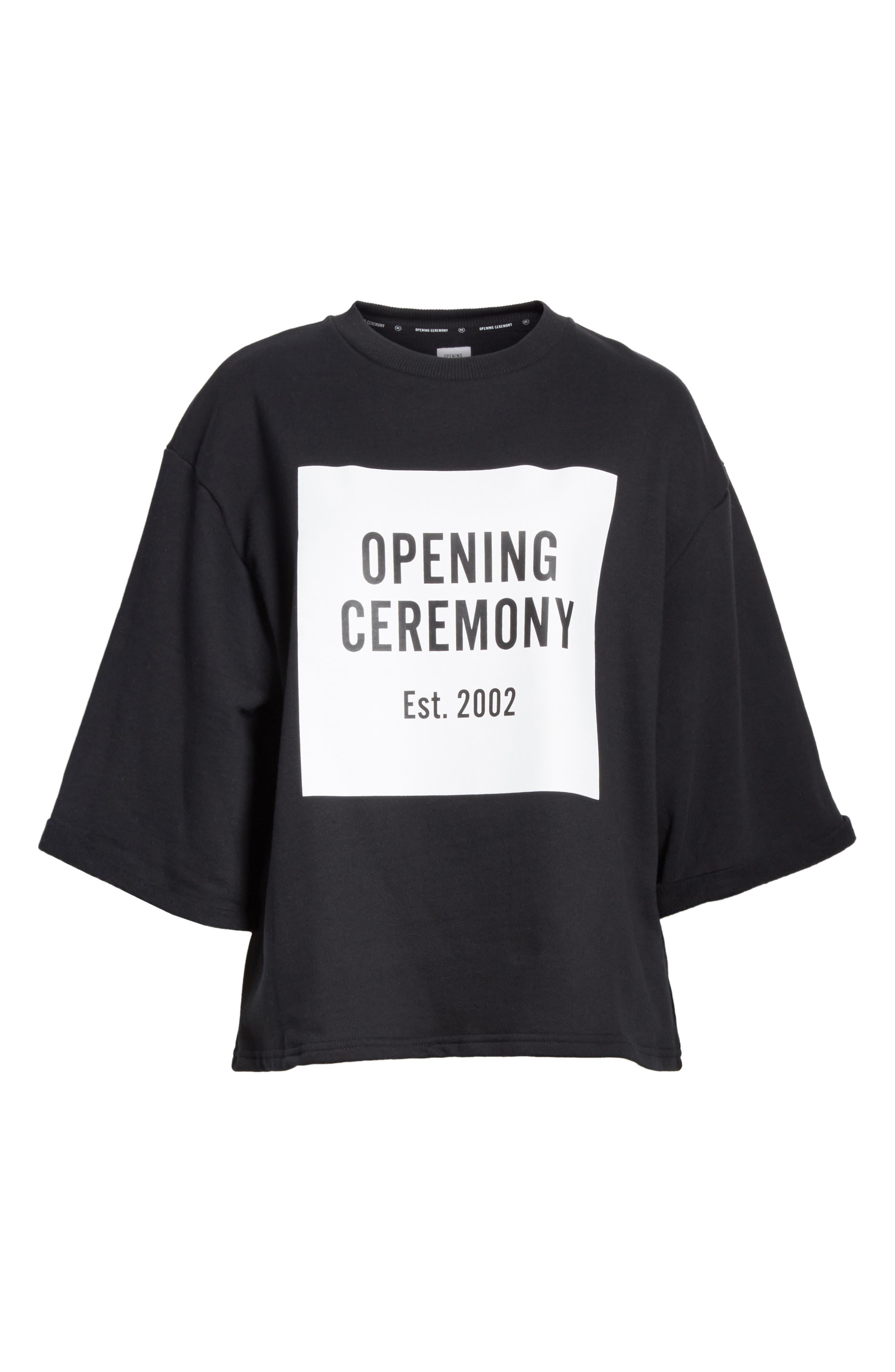 Alternate Image 6  - Opening Ceremony Logo Sweatshirt Tee