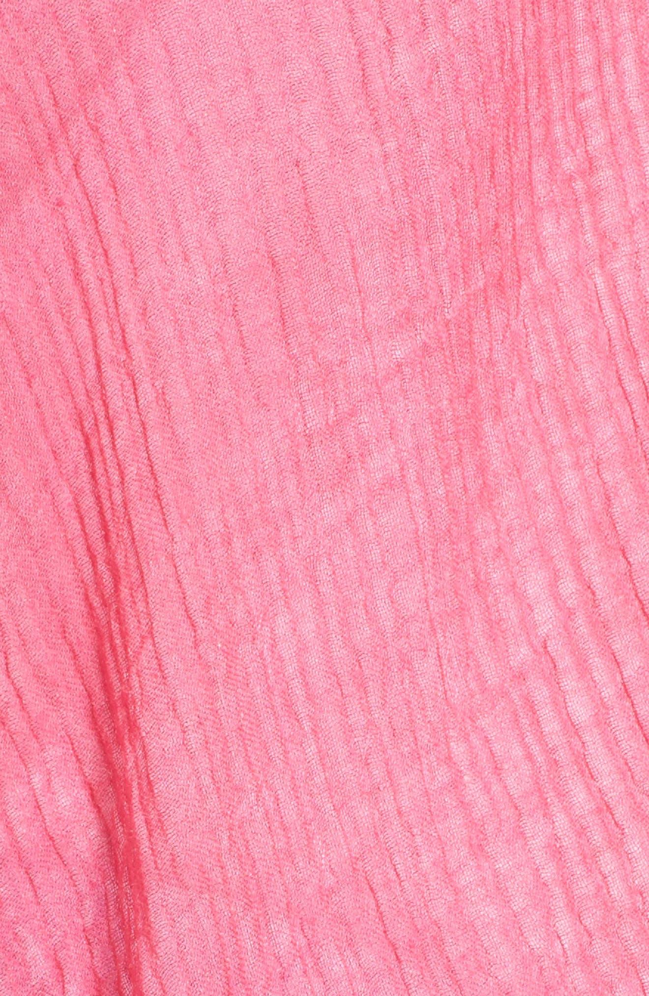 Tissueweight Ruana,                             Alternate thumbnail 5, color,                             Dragonfruit