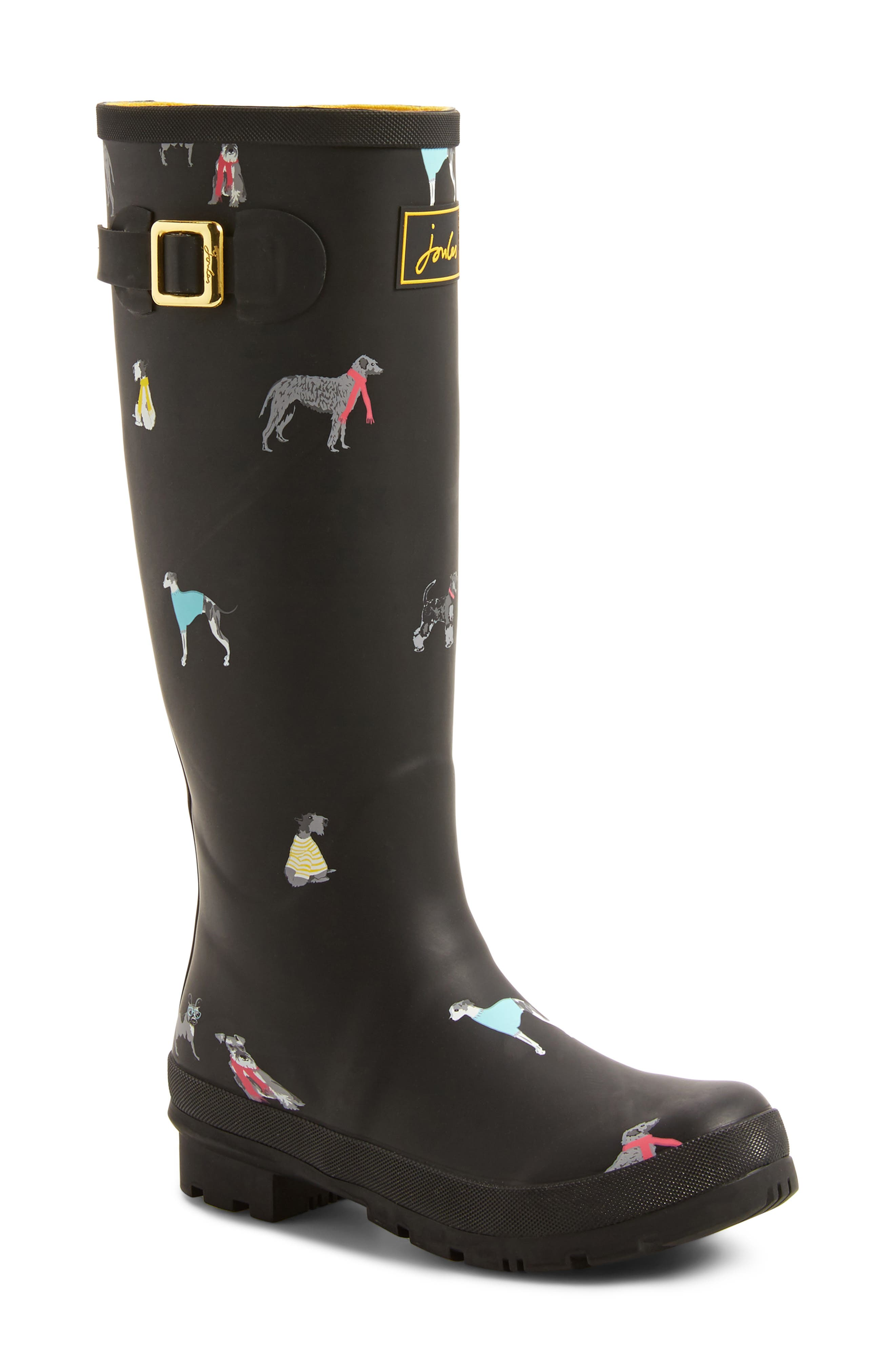 Joules 'Welly'PrintRain Boot (Women)
