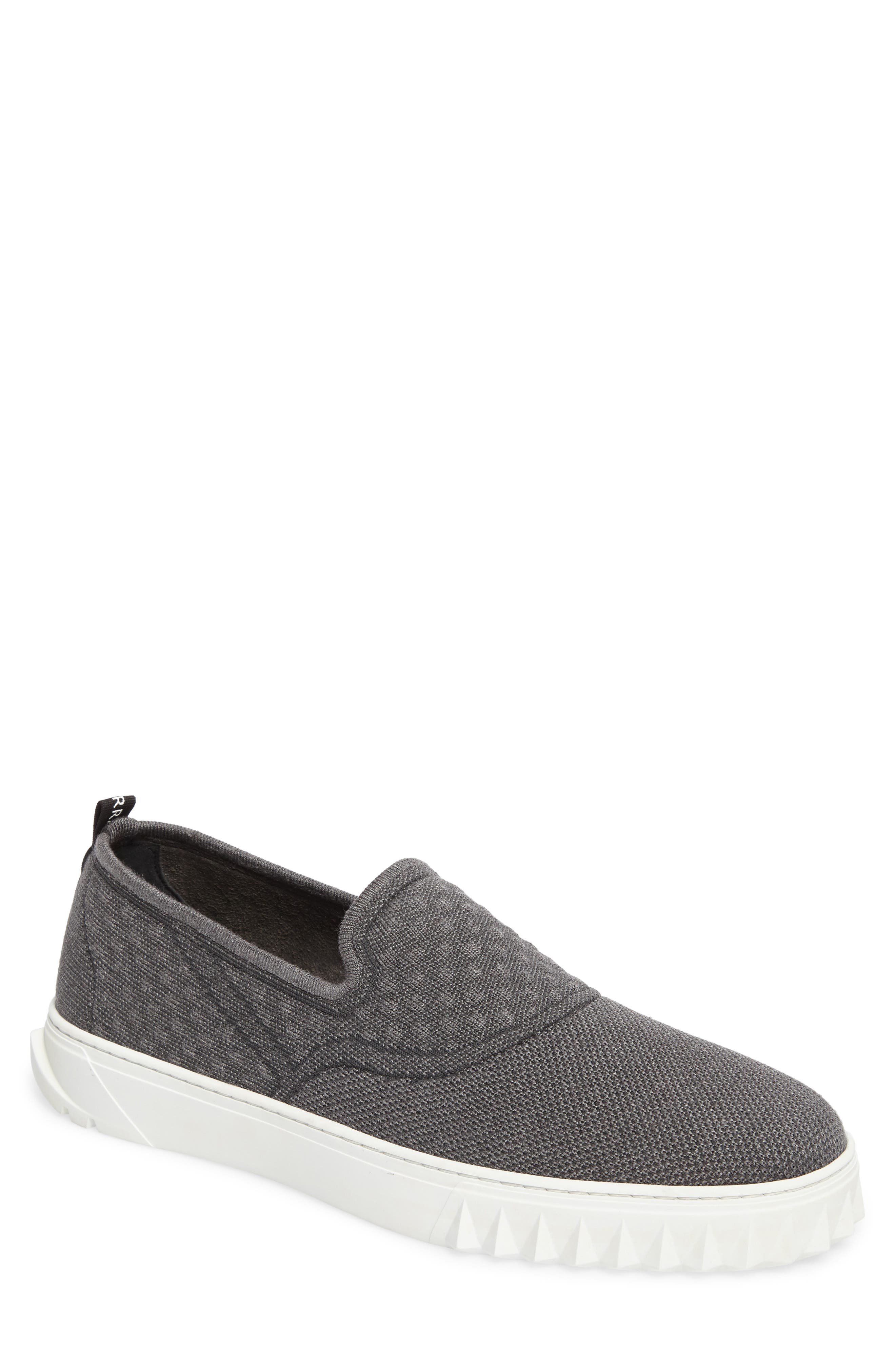 Clay Slip-On Sneaker,                             Main thumbnail 1, color,                             Charcoal