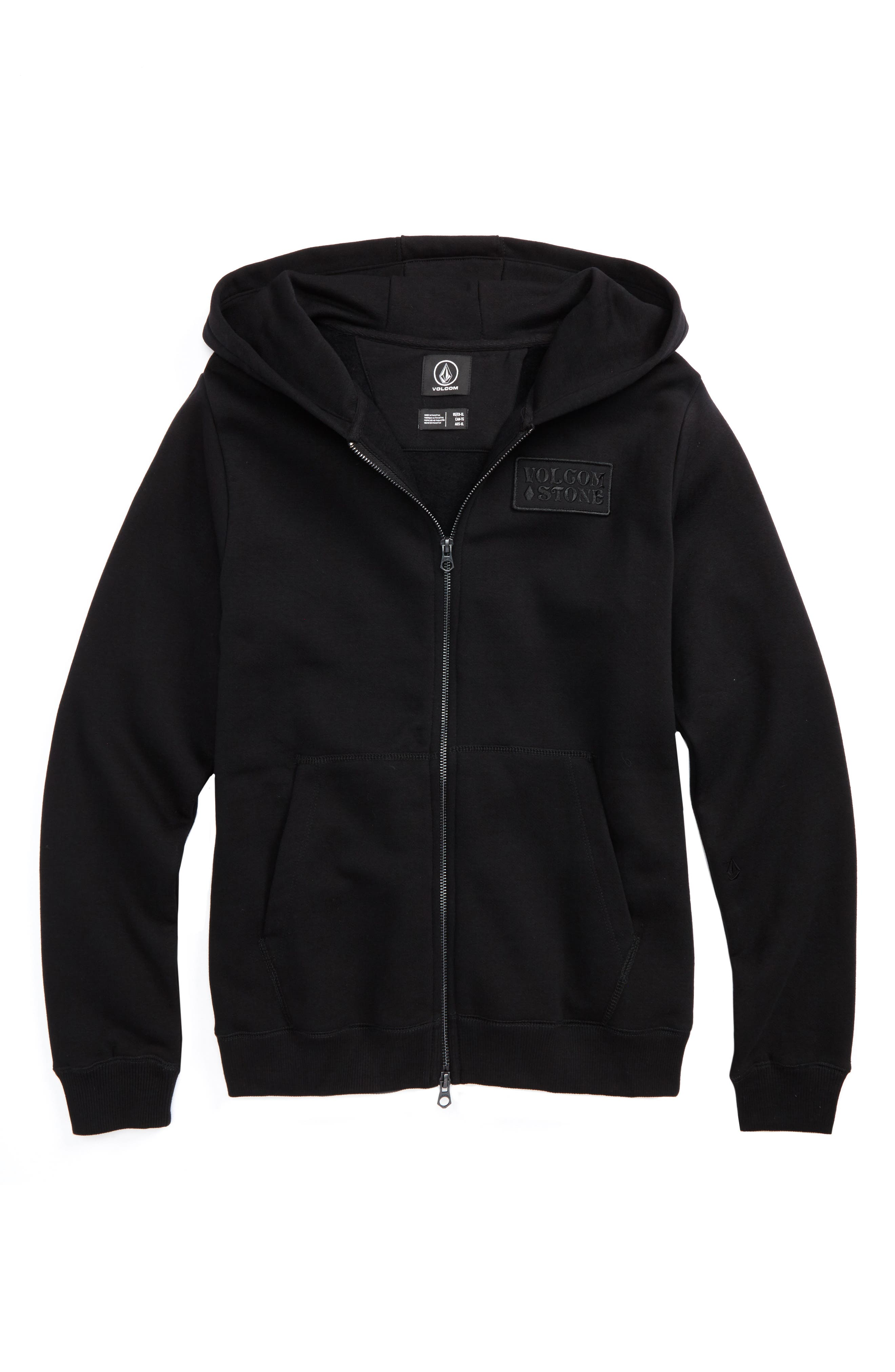 Main Image - Volcom Shop Fleece Hoodie (Big Boys)