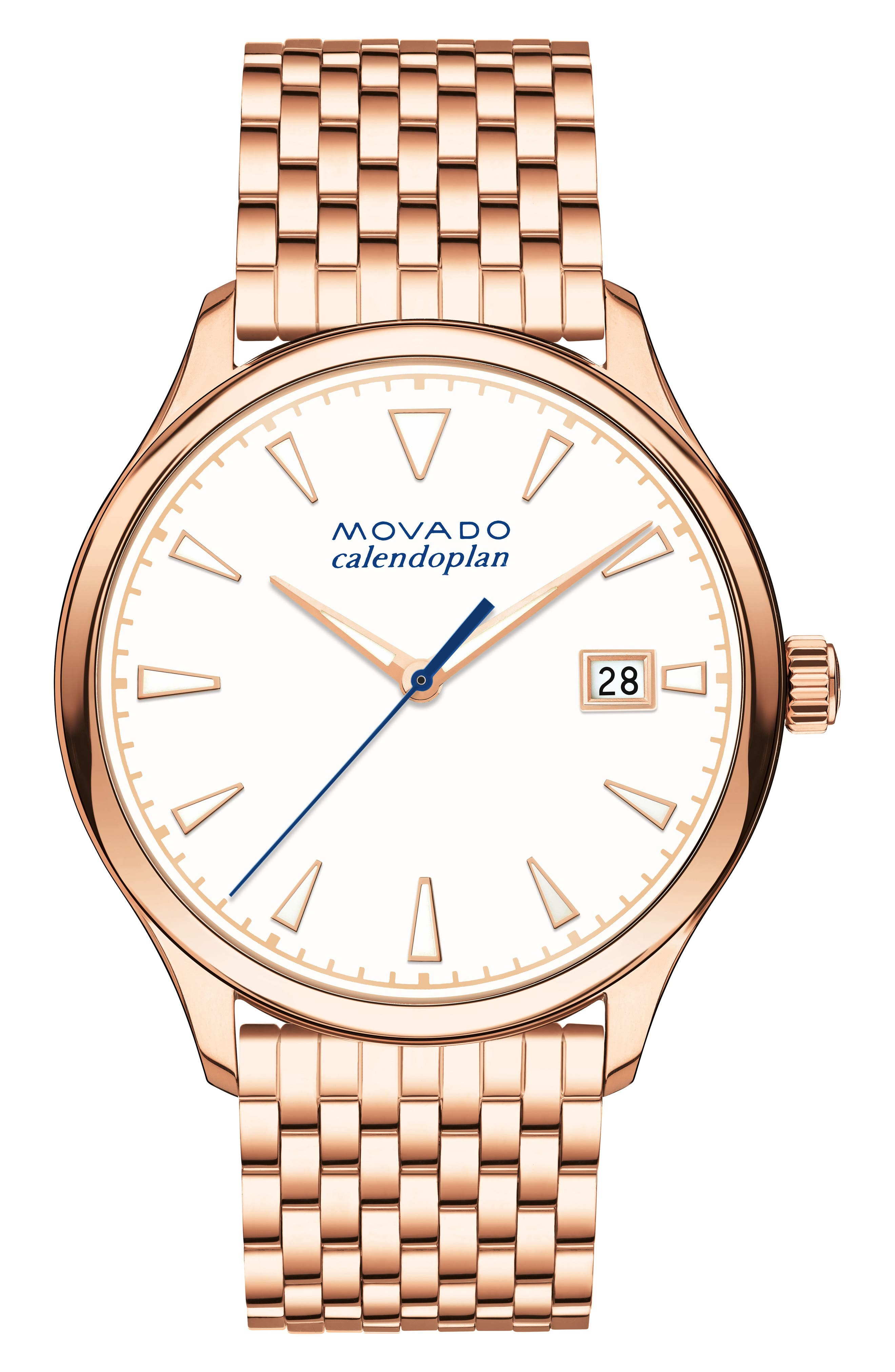 Movado Heritage Bracelet Watch, 36mm