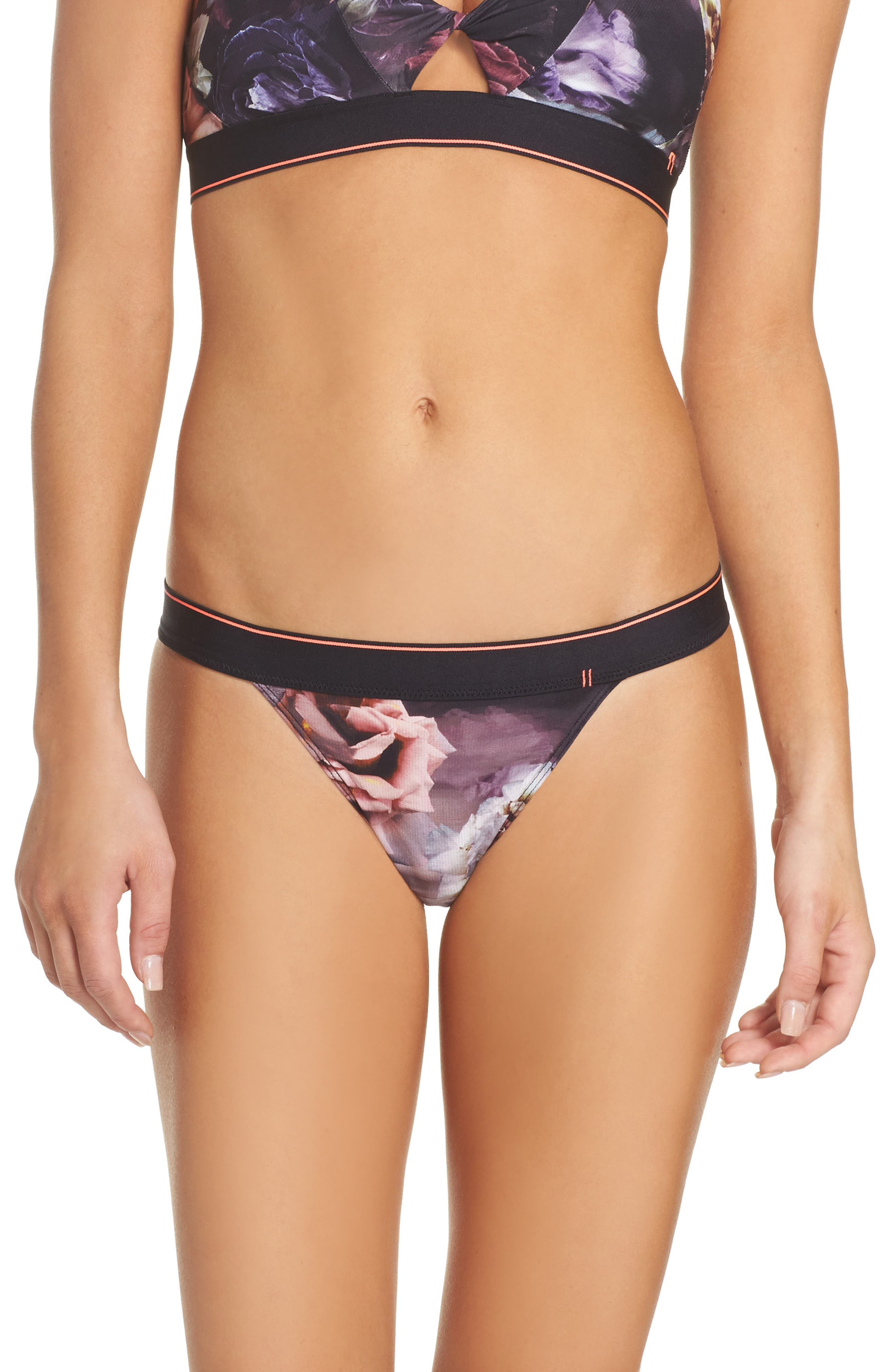 Alternate Image 1 Selected - Stance Dark Blooms Bikini