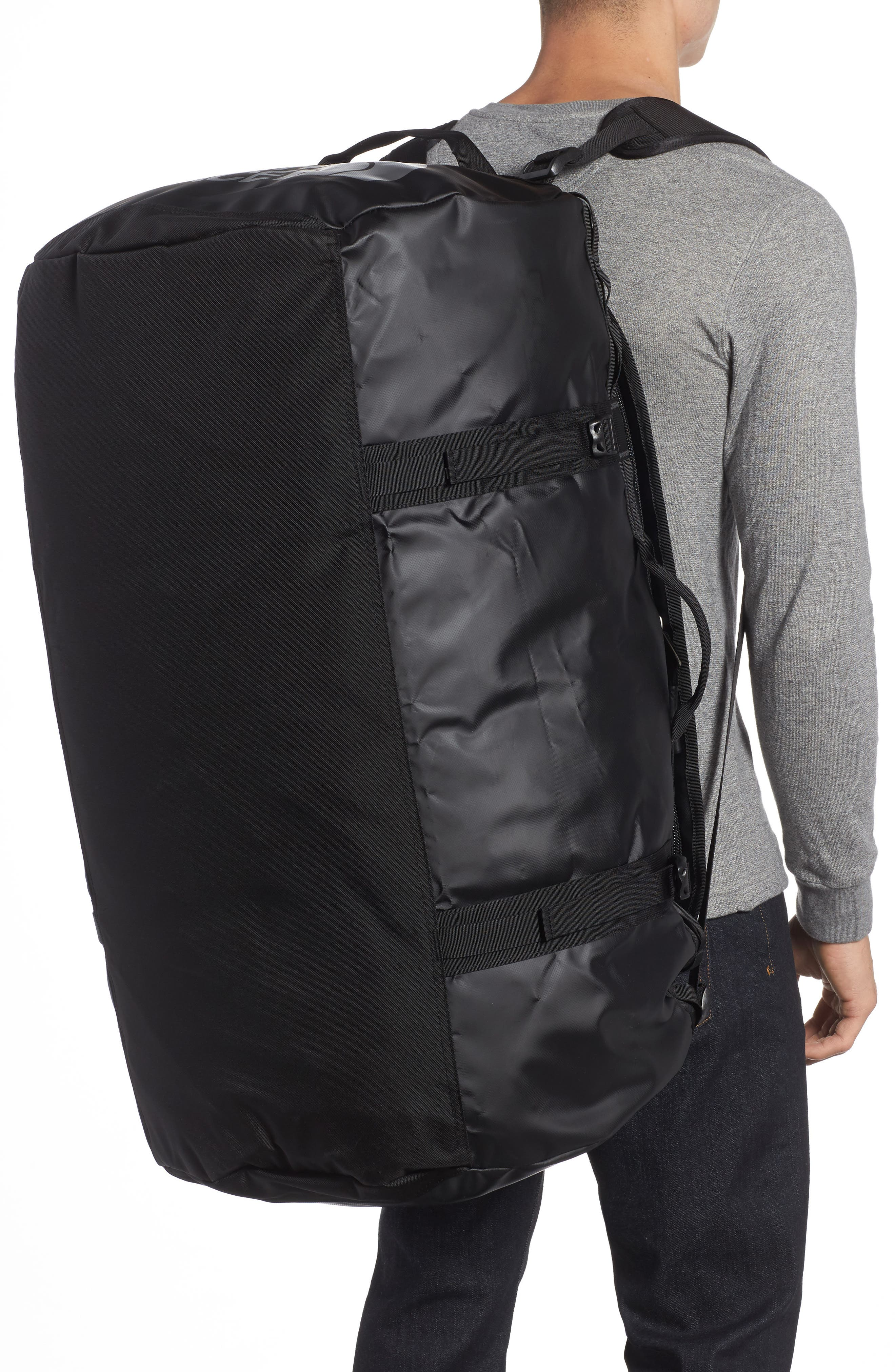 Base Camp XL Duffel Bag,                             Alternate thumbnail 2, color,                             Black