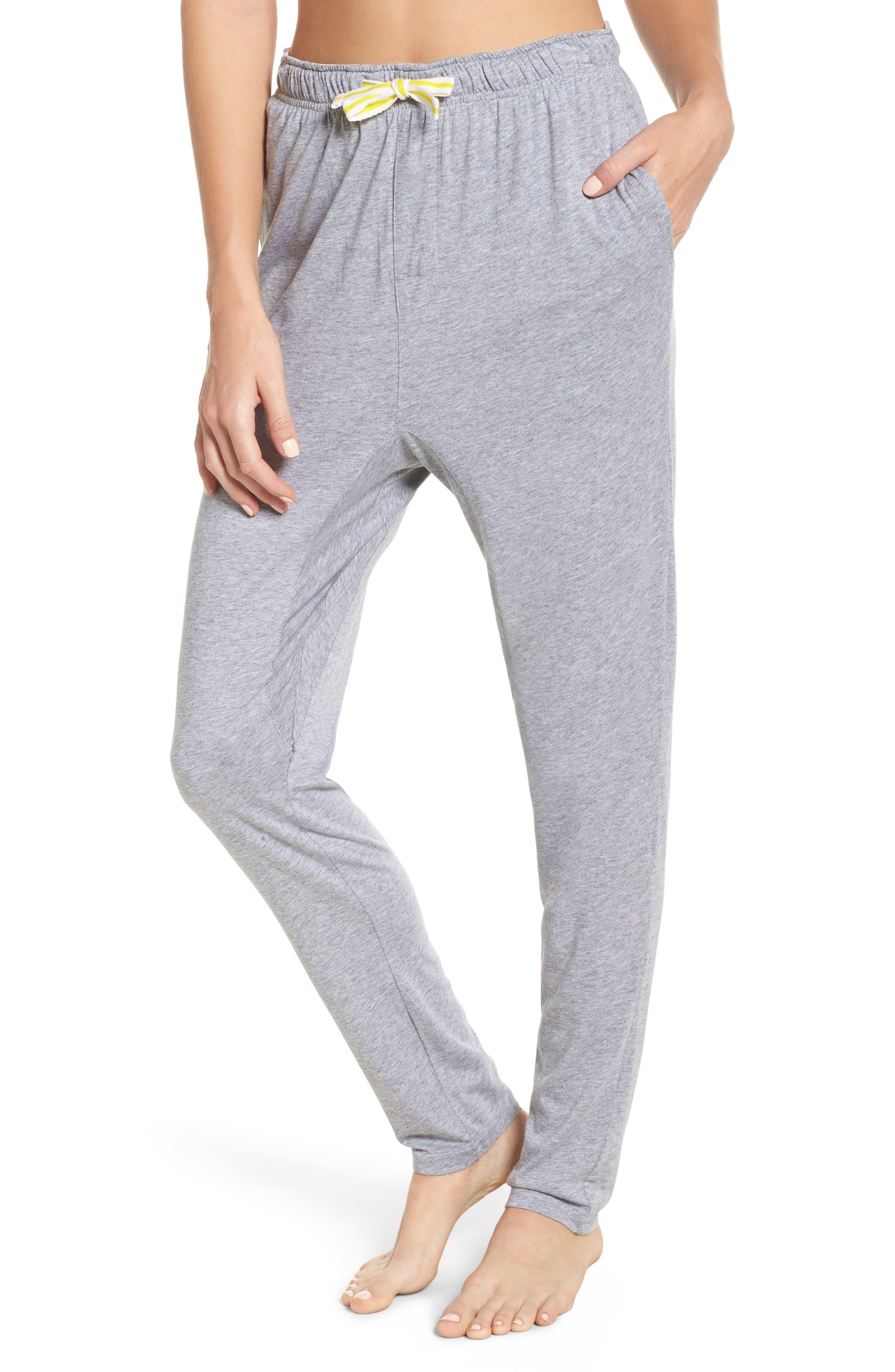 Alice Lounge Pants,                         Main,                         color, Plain Grey Marle
