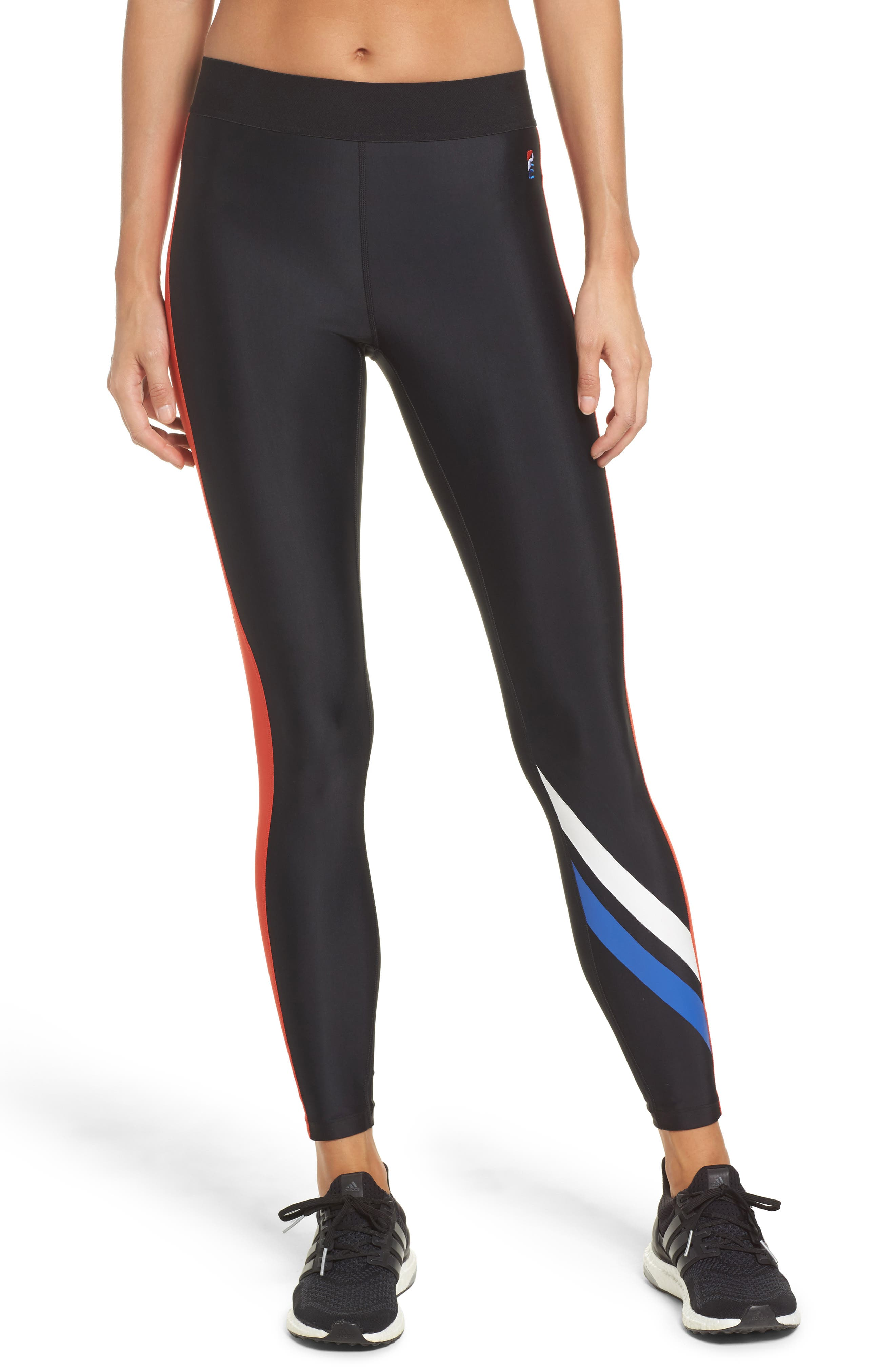The Knock Out Leggings,                         Main,                         color, Black