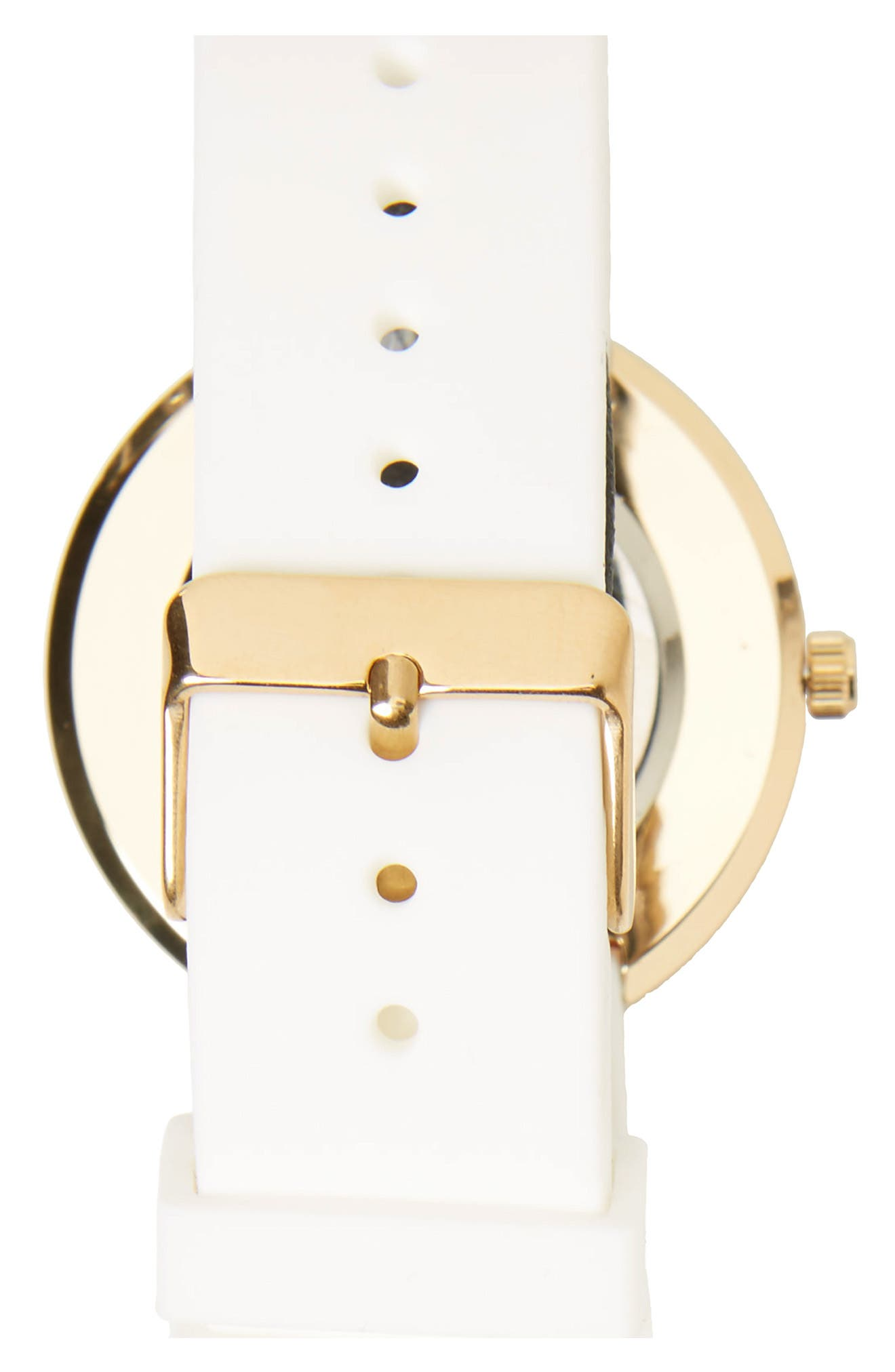 Alternate Image 2  - Topshop Marble Dial Watch