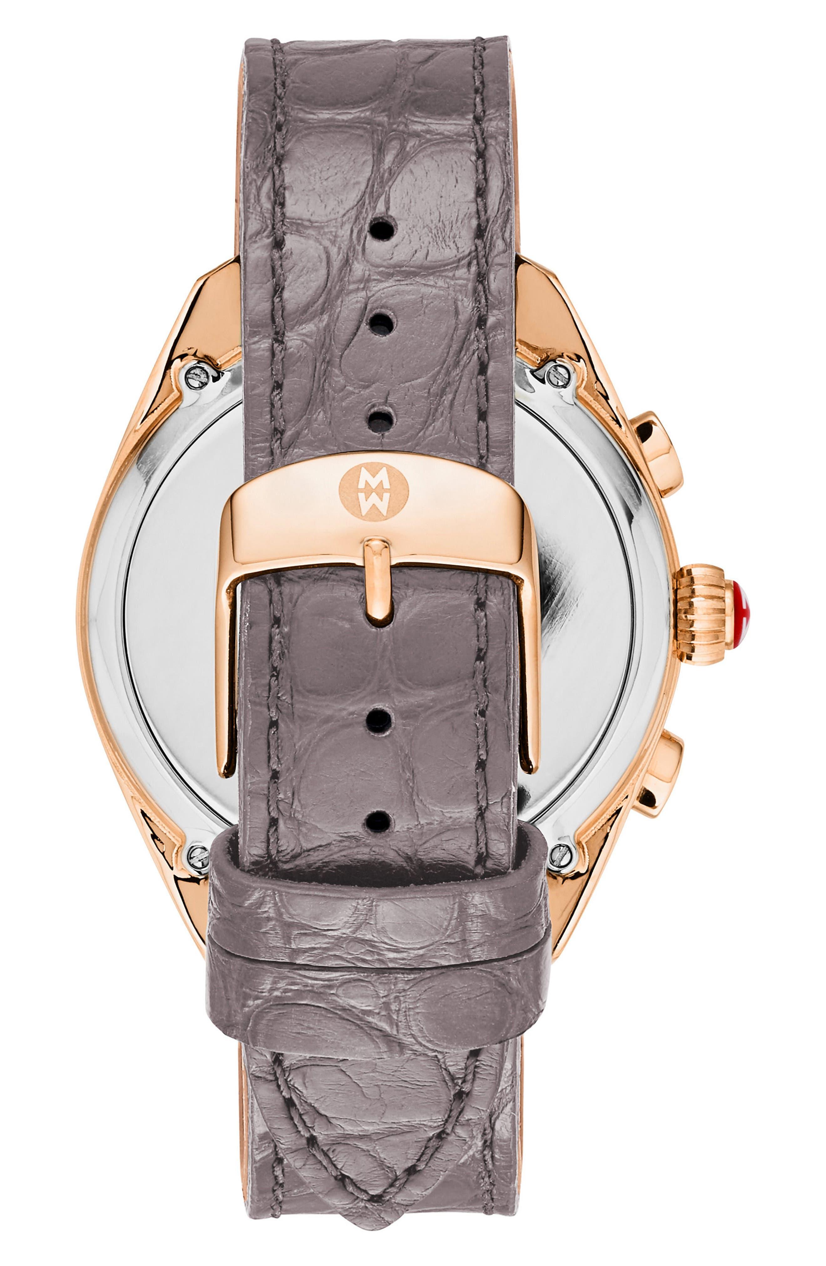 Hybrid Tracker Watch, 38mm,                             Alternate thumbnail 3, color,                             Grey/ Rose Gold