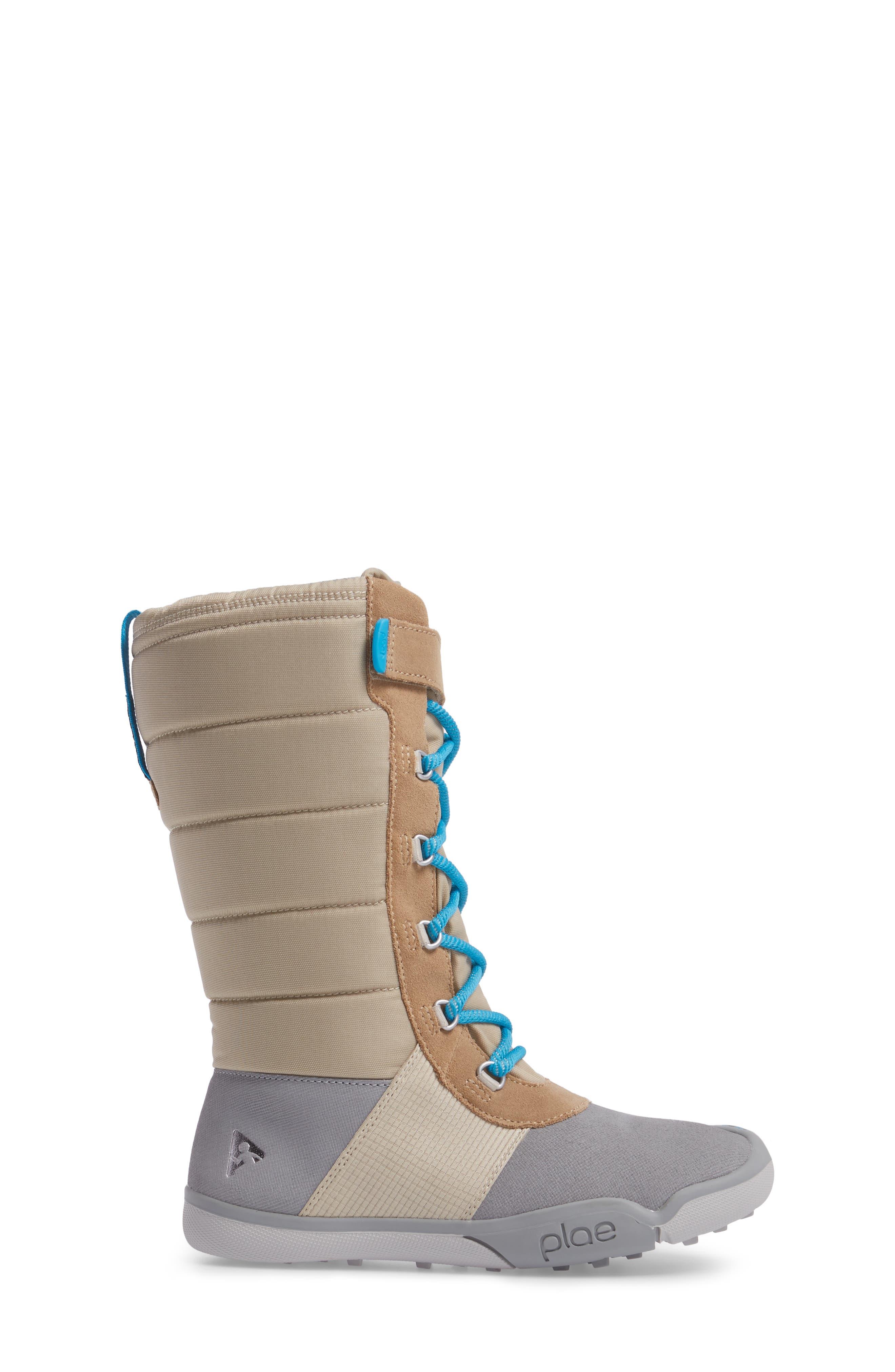 Jack Customizable Waterproof Boot,                             Alternate thumbnail 3, color,                             Light