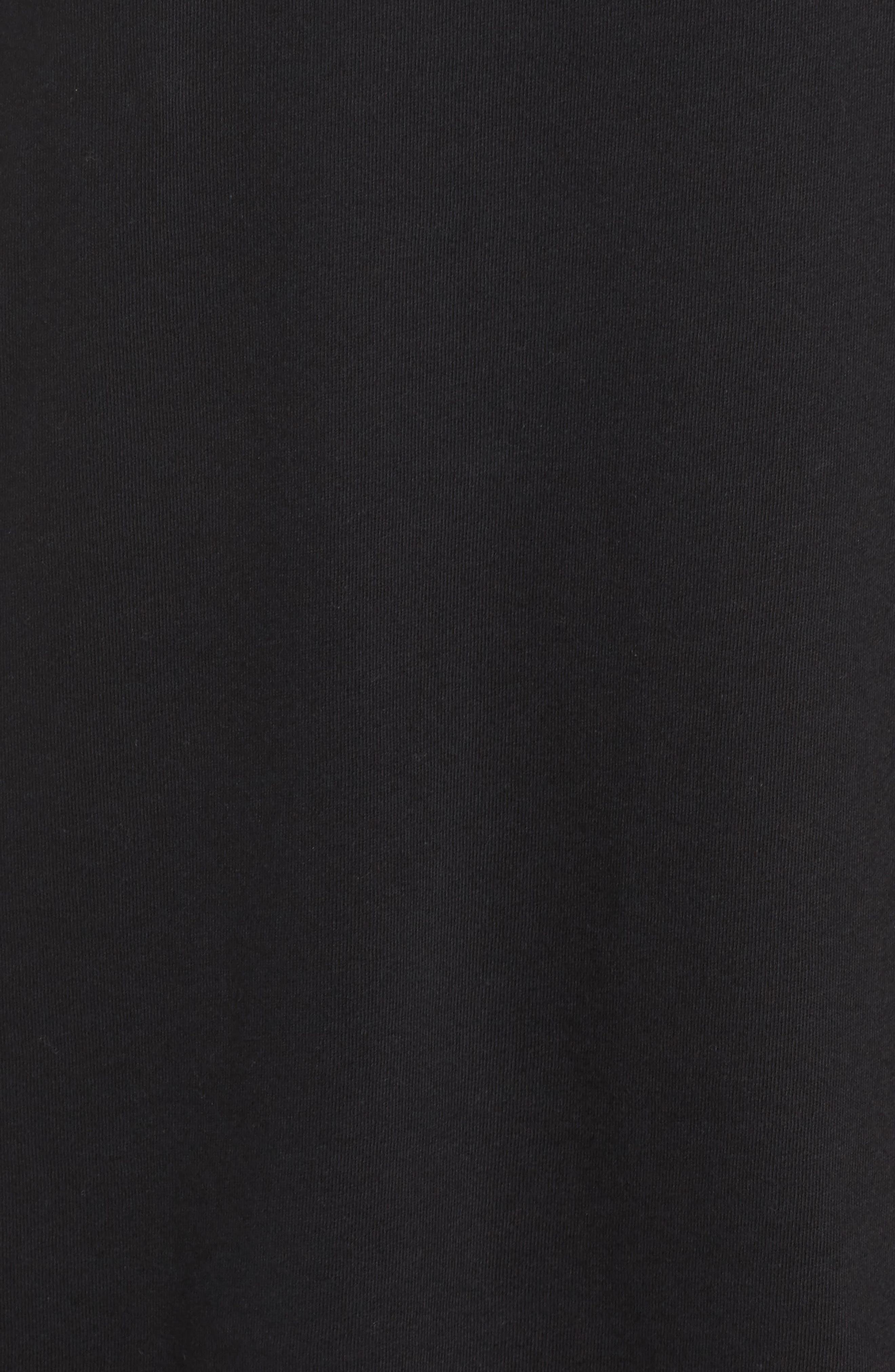 Classics T-Shirt Dress,                             Alternate thumbnail 6, color,                             Black