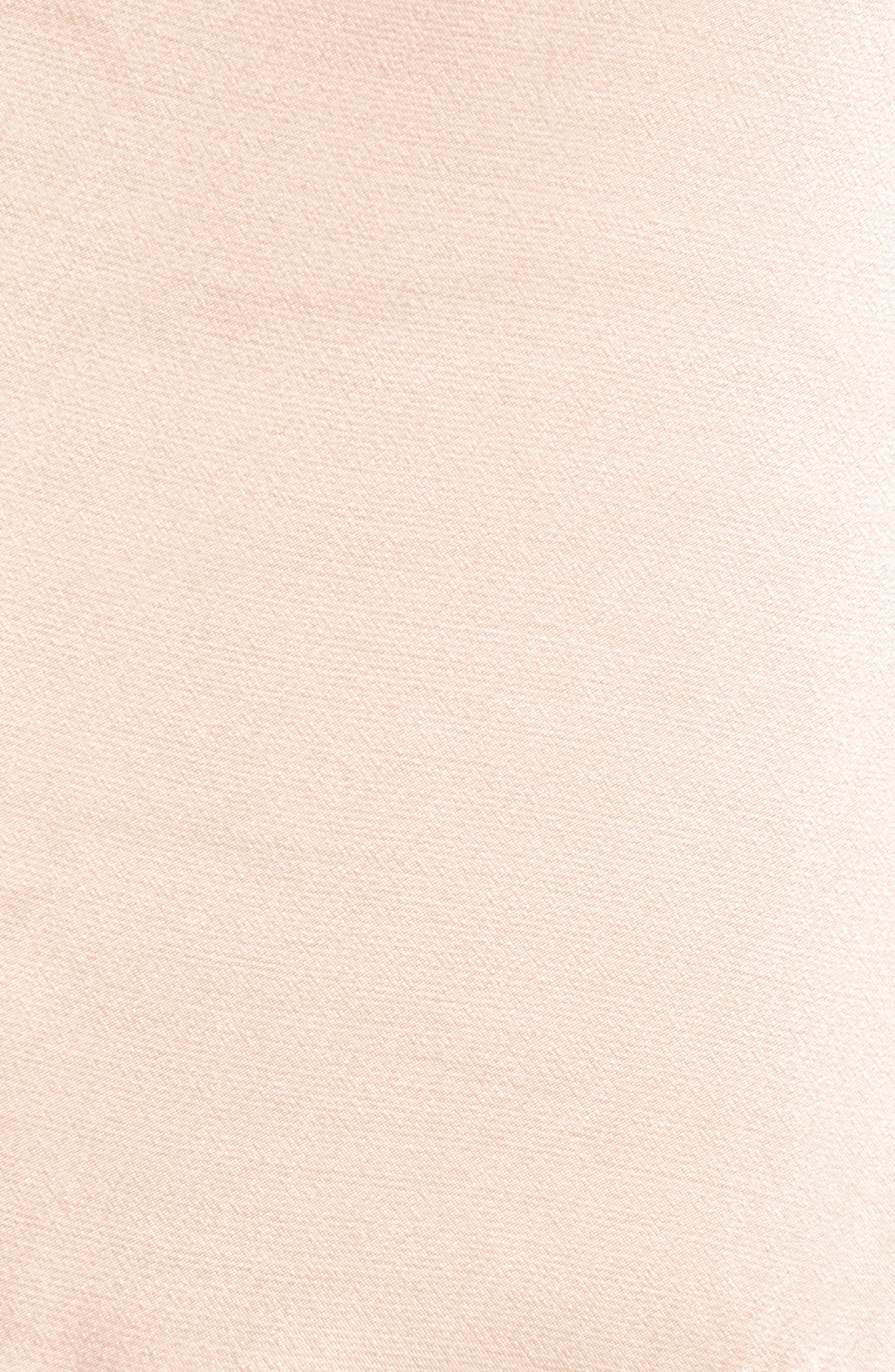 Sateen Ruffle Skirt,                             Alternate thumbnail 5, color,                             Beige Maple