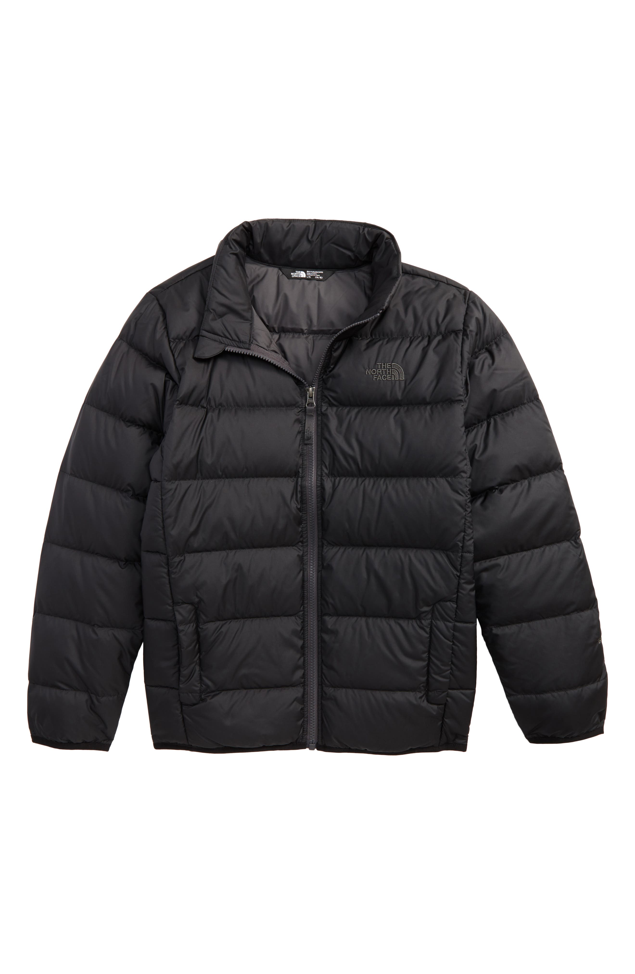 Main Image - The North Face Andes Water Repellent 550-Fill Power Down Jacket (Big Boys)