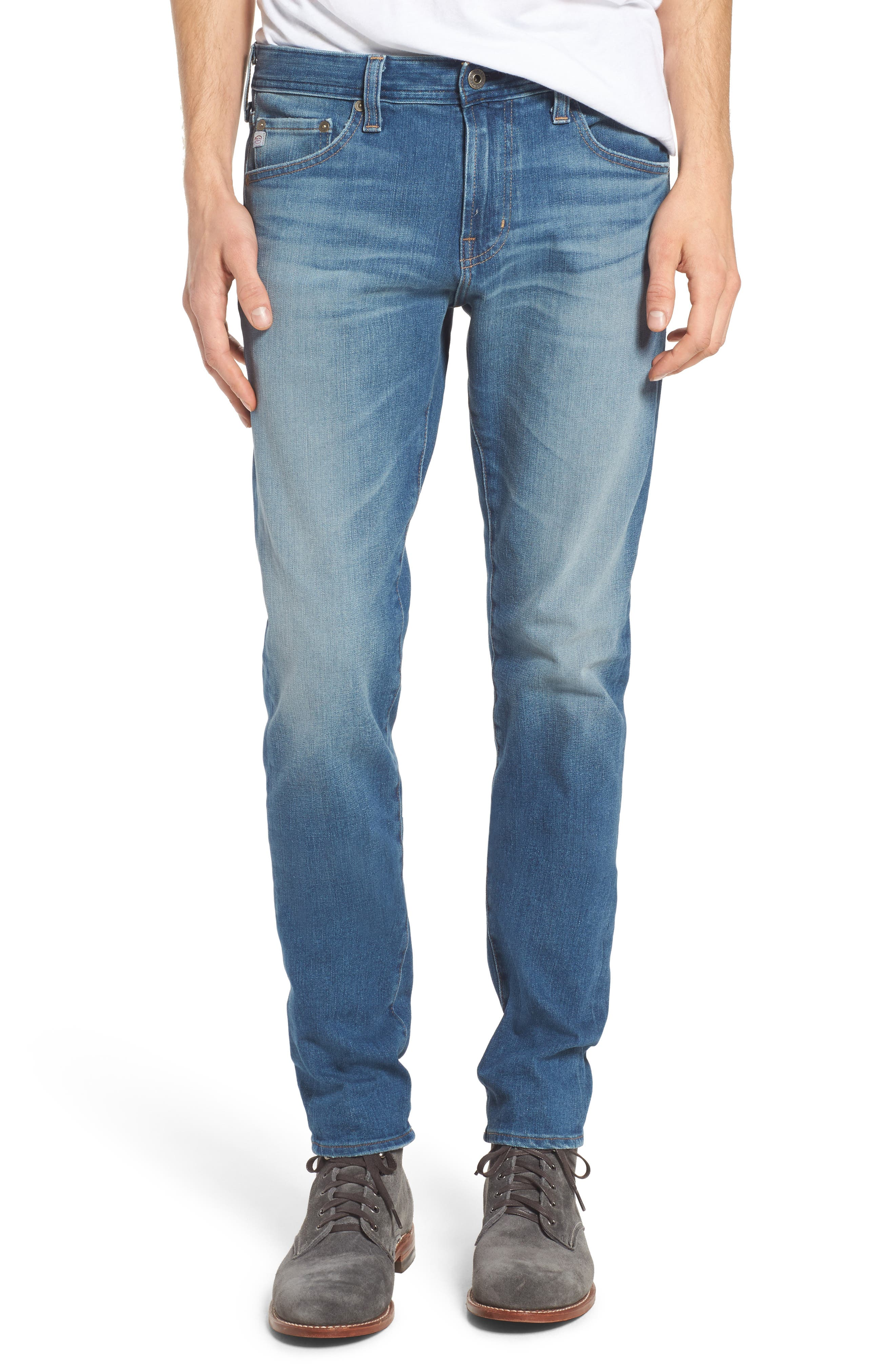 Dylan Slim Skinny Fit Jeans,                             Main thumbnail 1, color,                             Audition