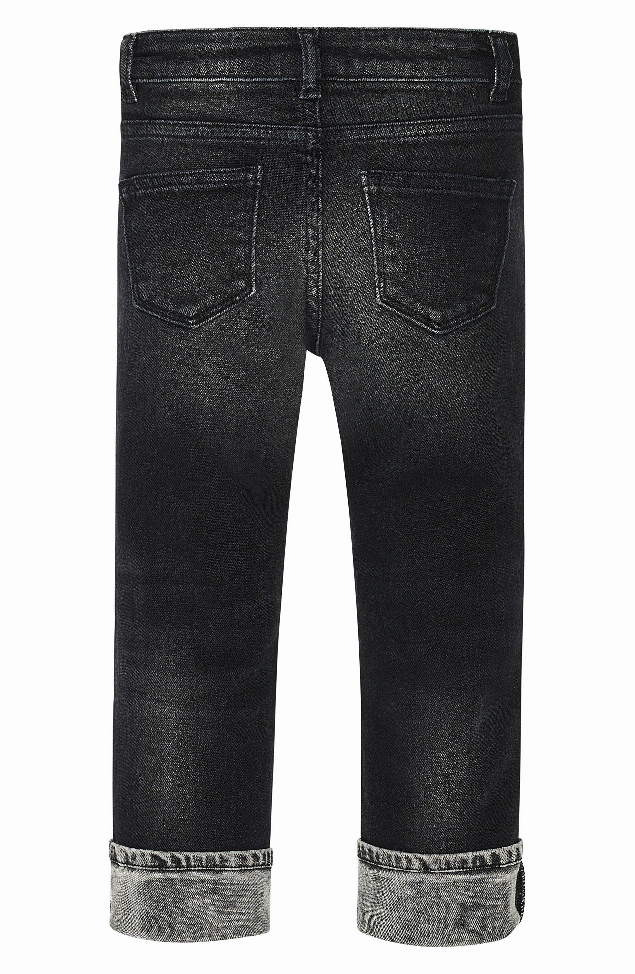 Alternate Image 4  - DL1961 Hawke Skinny Jeans (Toddler Boys & Little Boys)