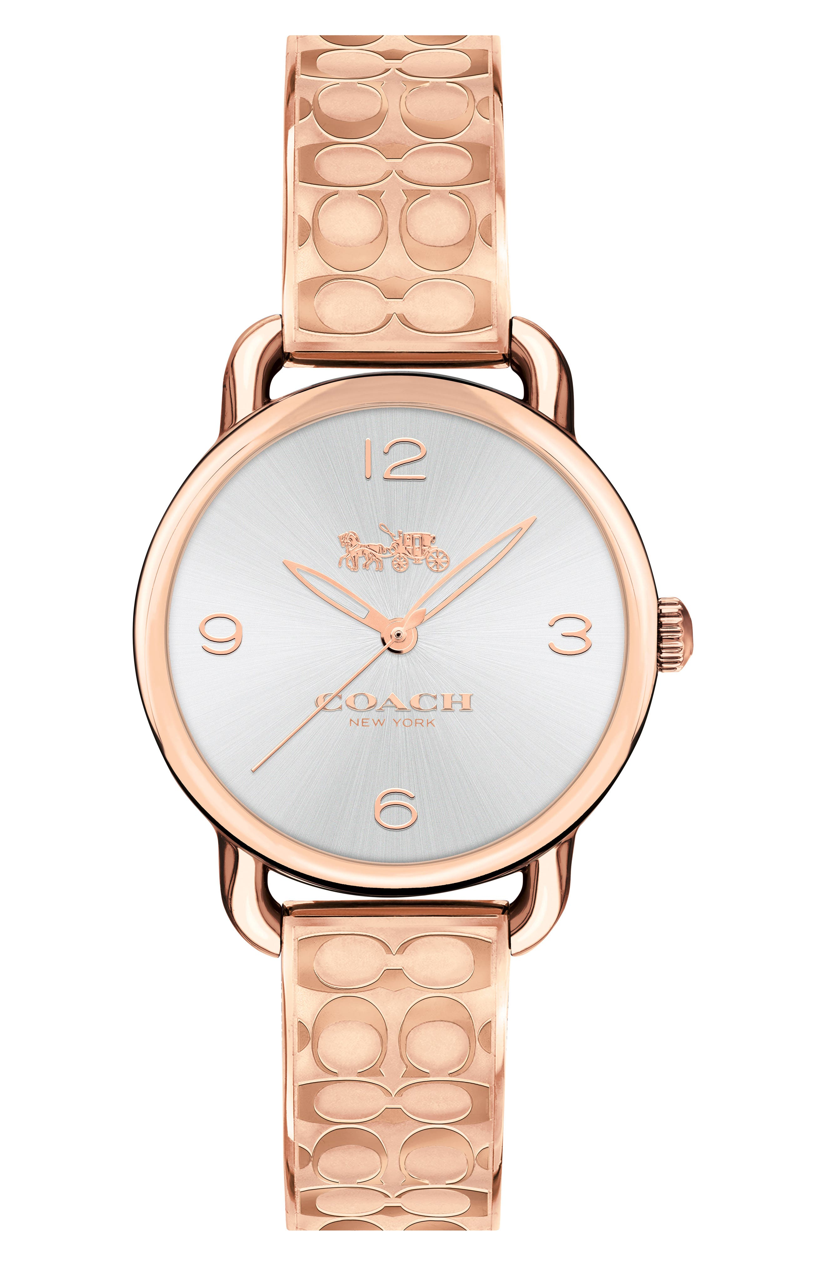 Delancey Bracelet Watch, 28mm,                             Main thumbnail 1, color,                             Rose Gold/ Silver/ Rose Gold