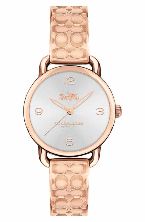 Coach Delancey Bracelet Watch 28mm
