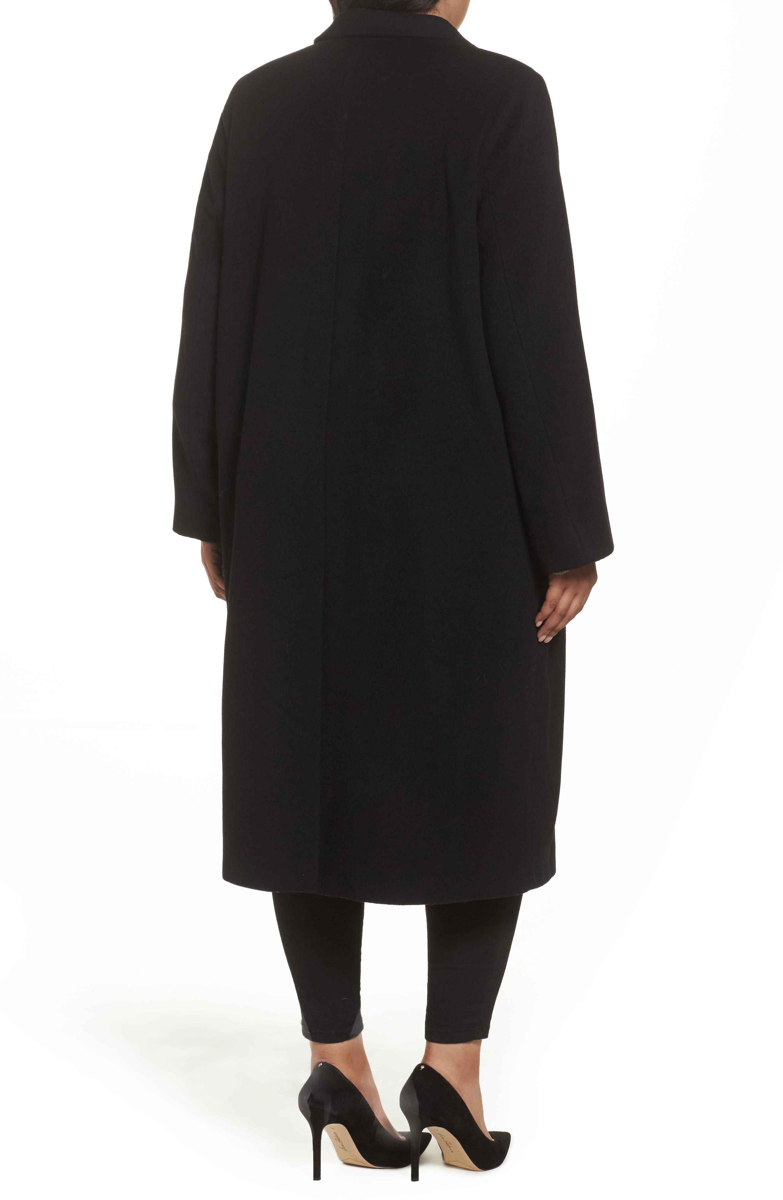 Alternate Image 2  - Persona by Marina Rinaldi Tamigi Coat (Plus Size)
