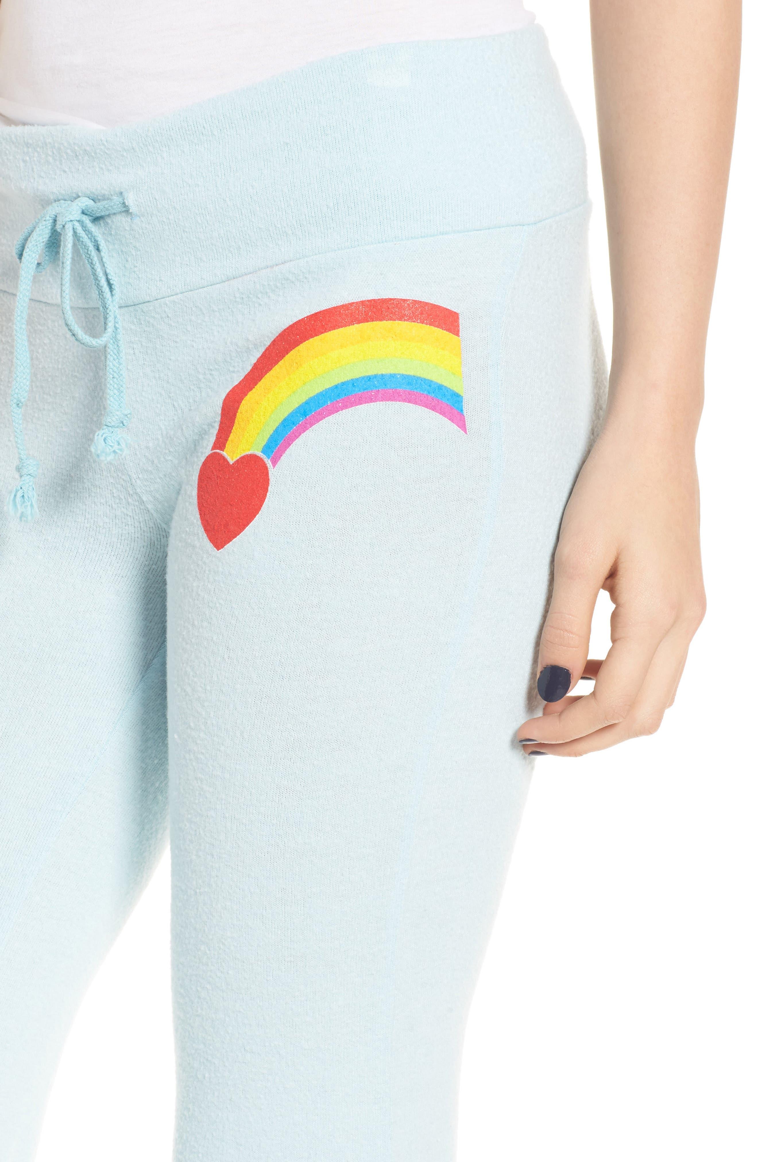 Alternate Image 4  - Dream Scene Rainbow Bright Sweatpants