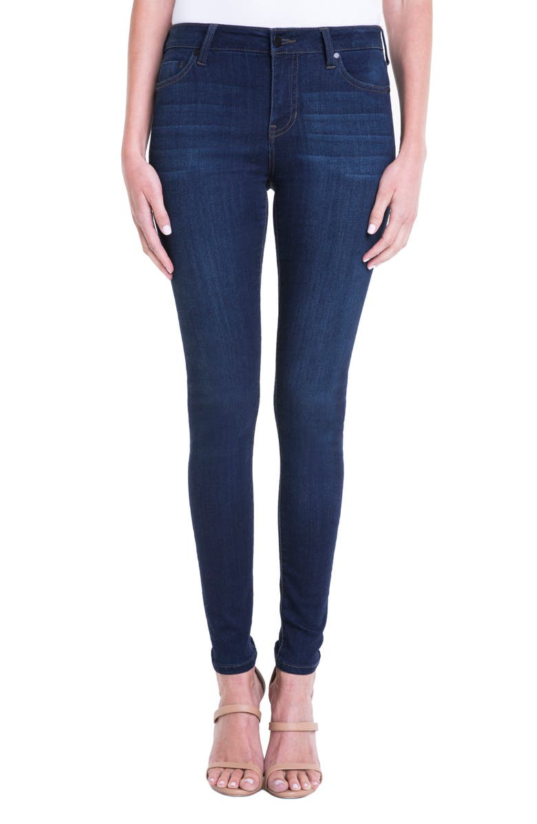 Abby Mid Rise Soft Stretch Skinny Jeans