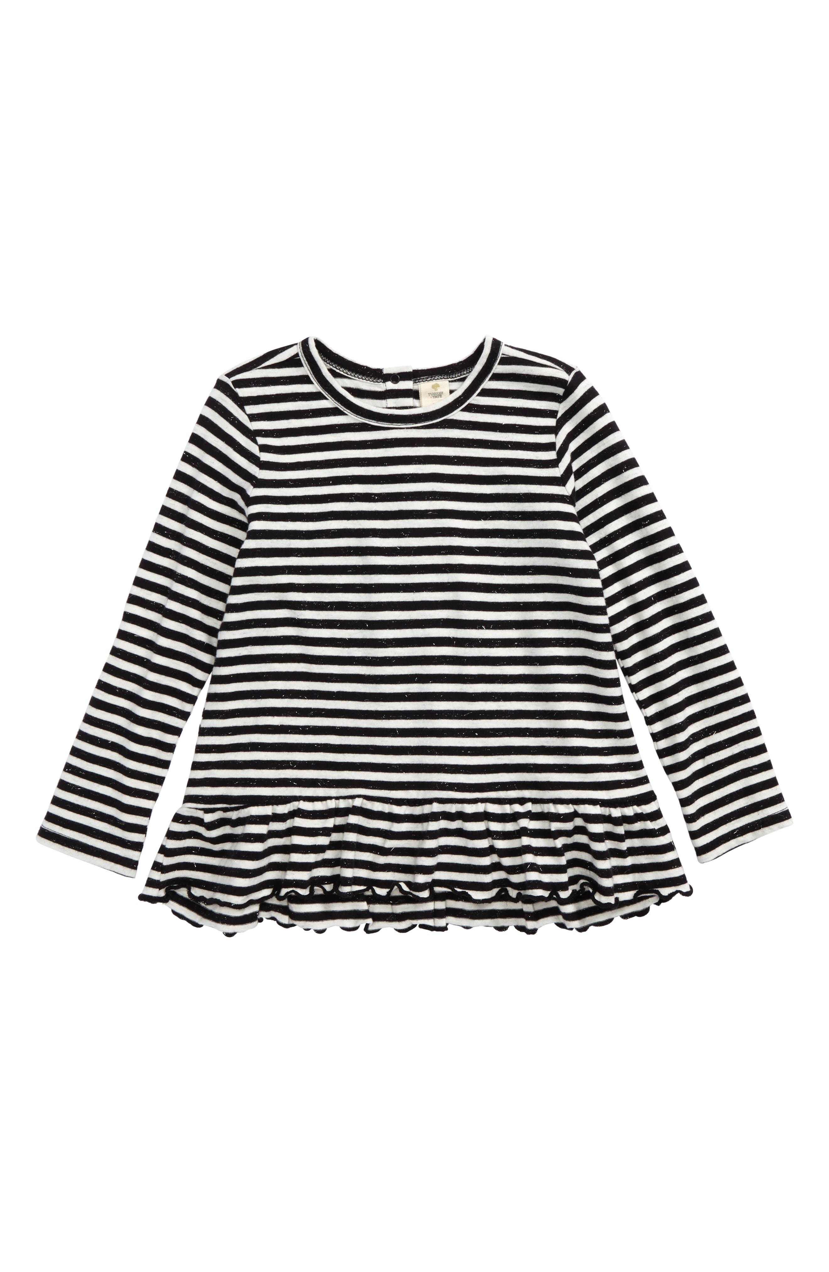 Tucker + Tate Swingy Ruffle Top (Baby Girls)