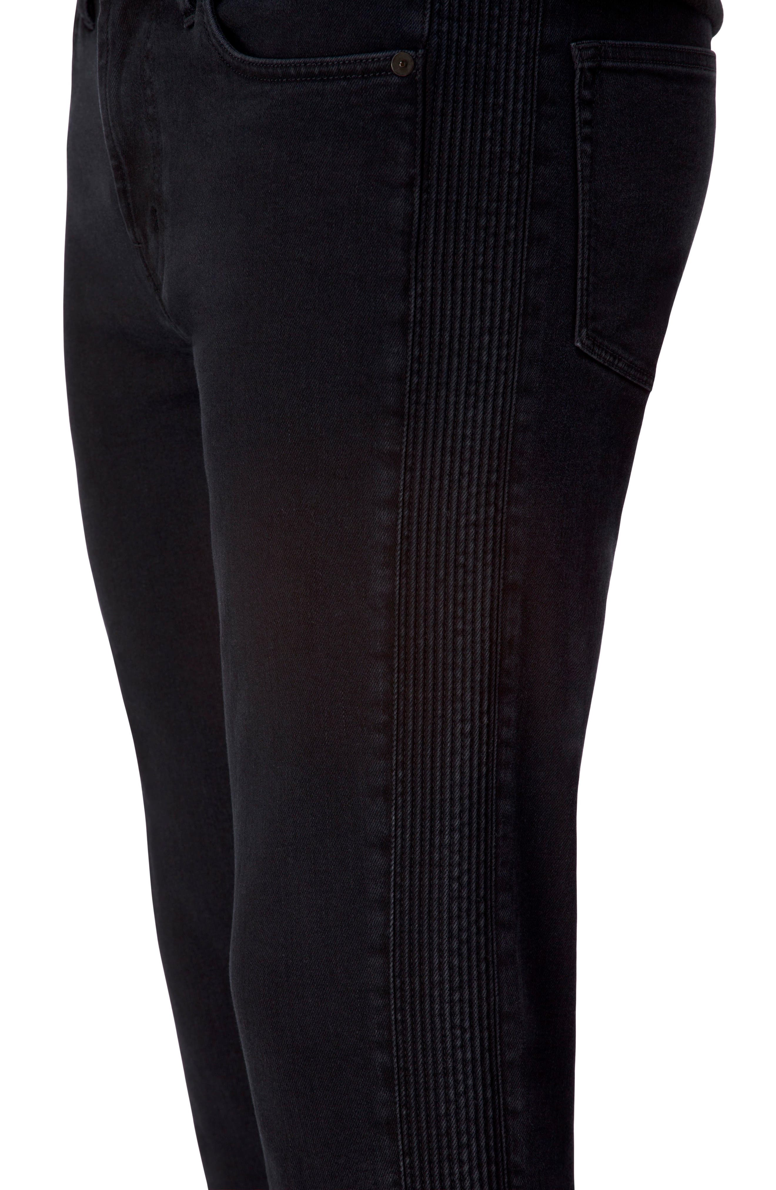 Alternate Image 4  - J Brand Parallax Moto Skinny Fit Jeans (Hype)
