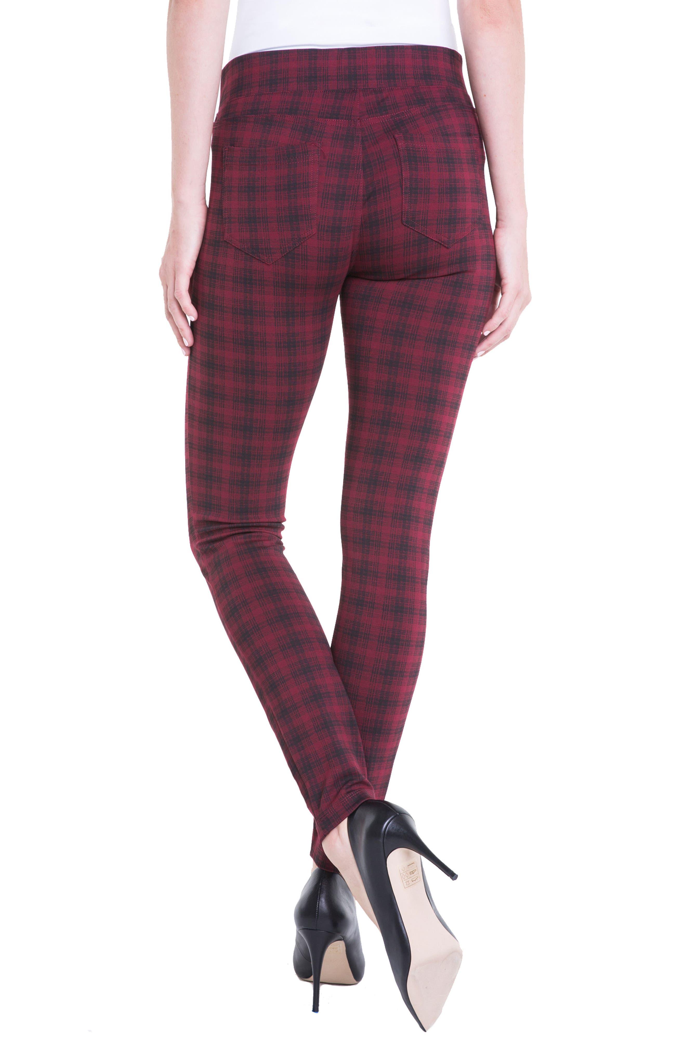 Alternate Image 3  - Liverpool Jeans Company Sienna Plaid Leggings