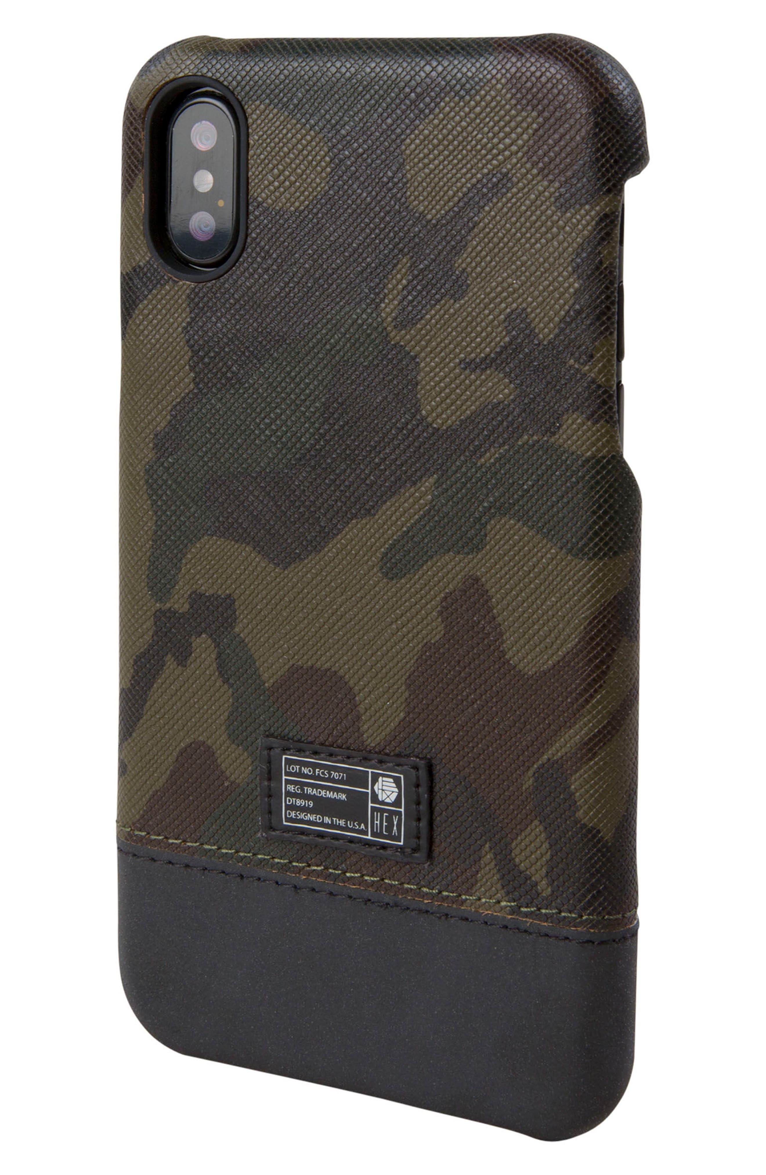 Hex Focus iPhone X Case