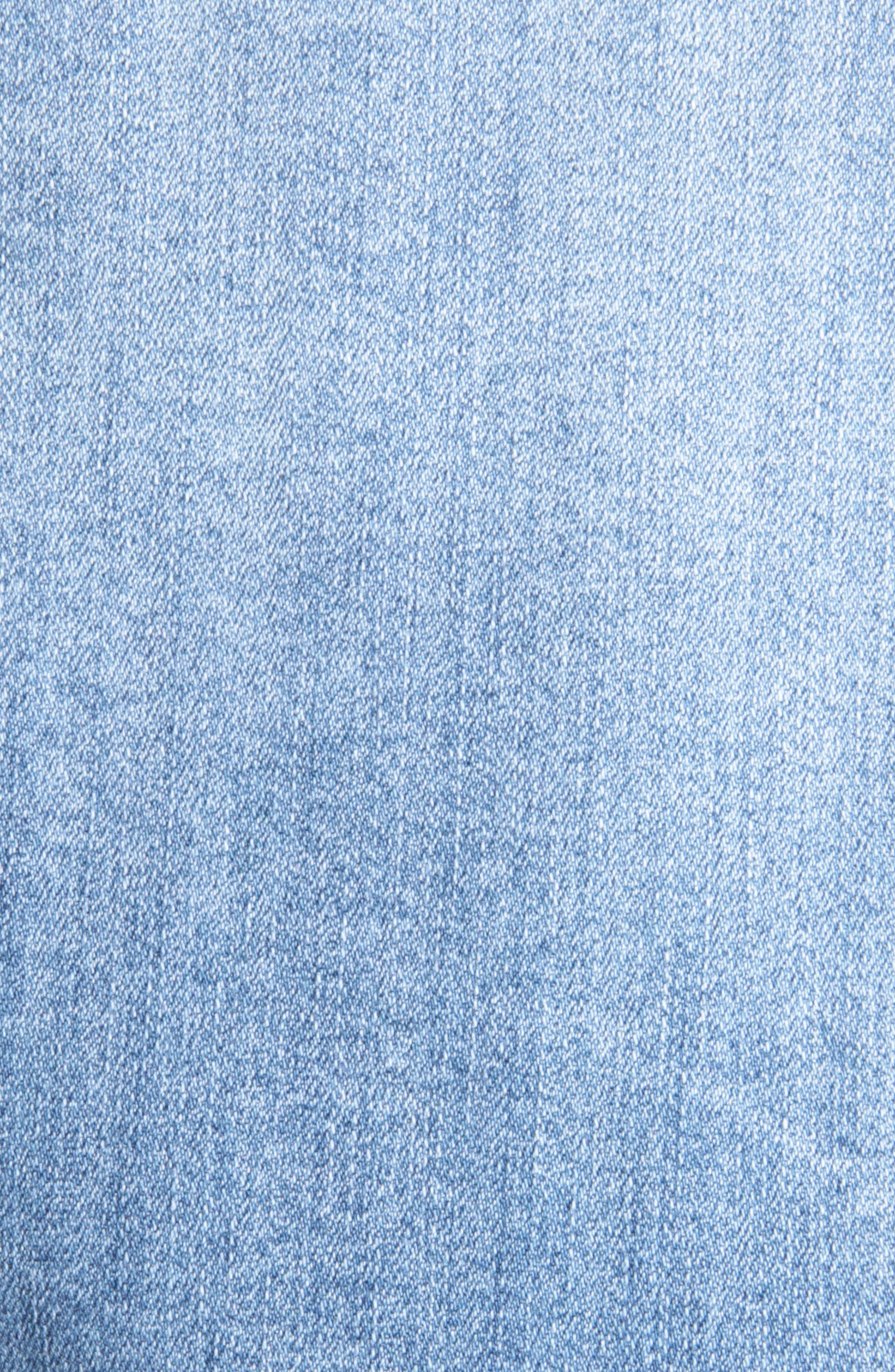 Alternate Image 4  - Kut from the Kloth Adriana Denim Jacket (Calculating)