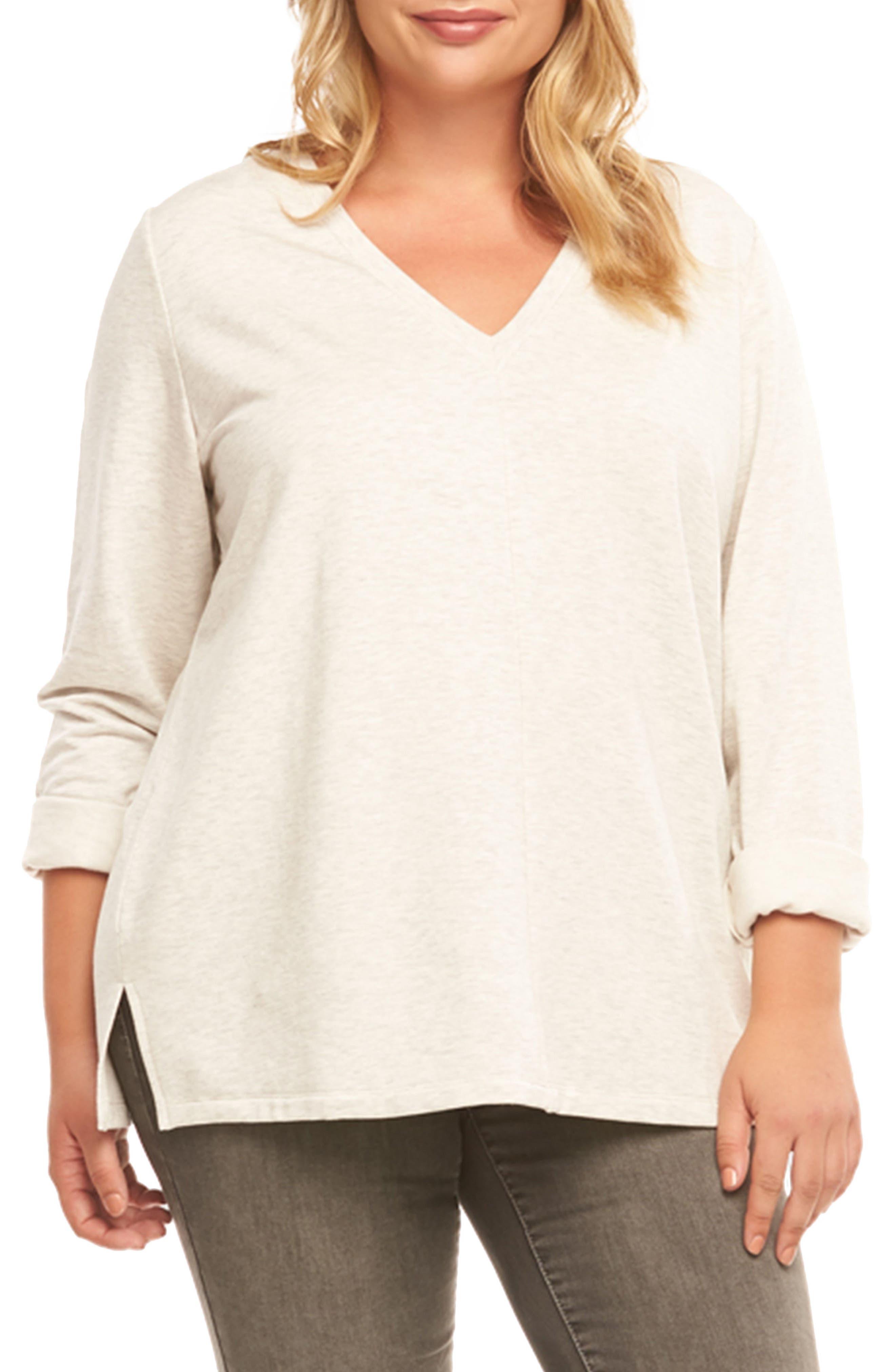 Tart Joelle Lace Back Sweater (Plus Size)