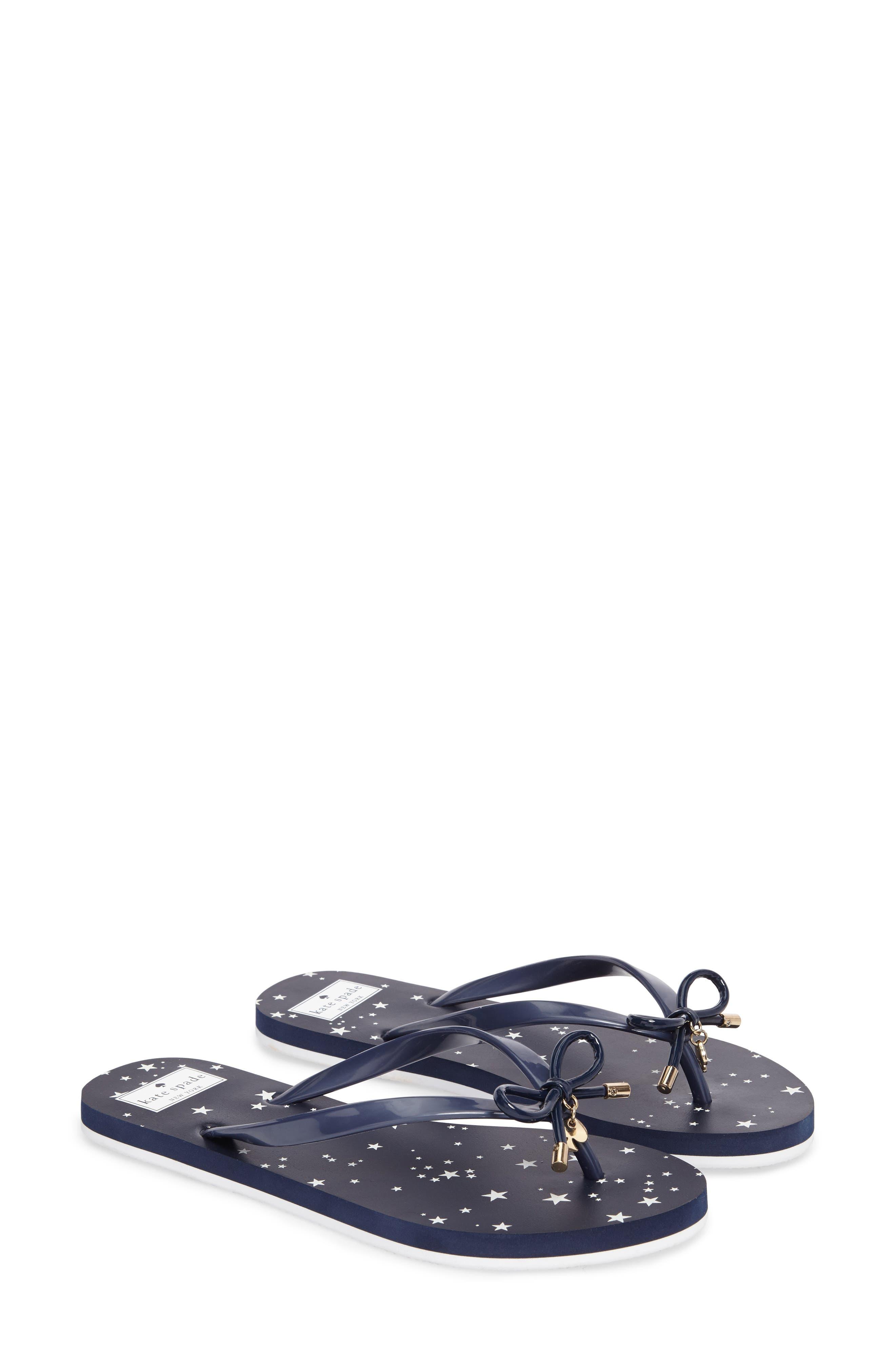 'nova' flip flop,                         Main,                         color, Navy