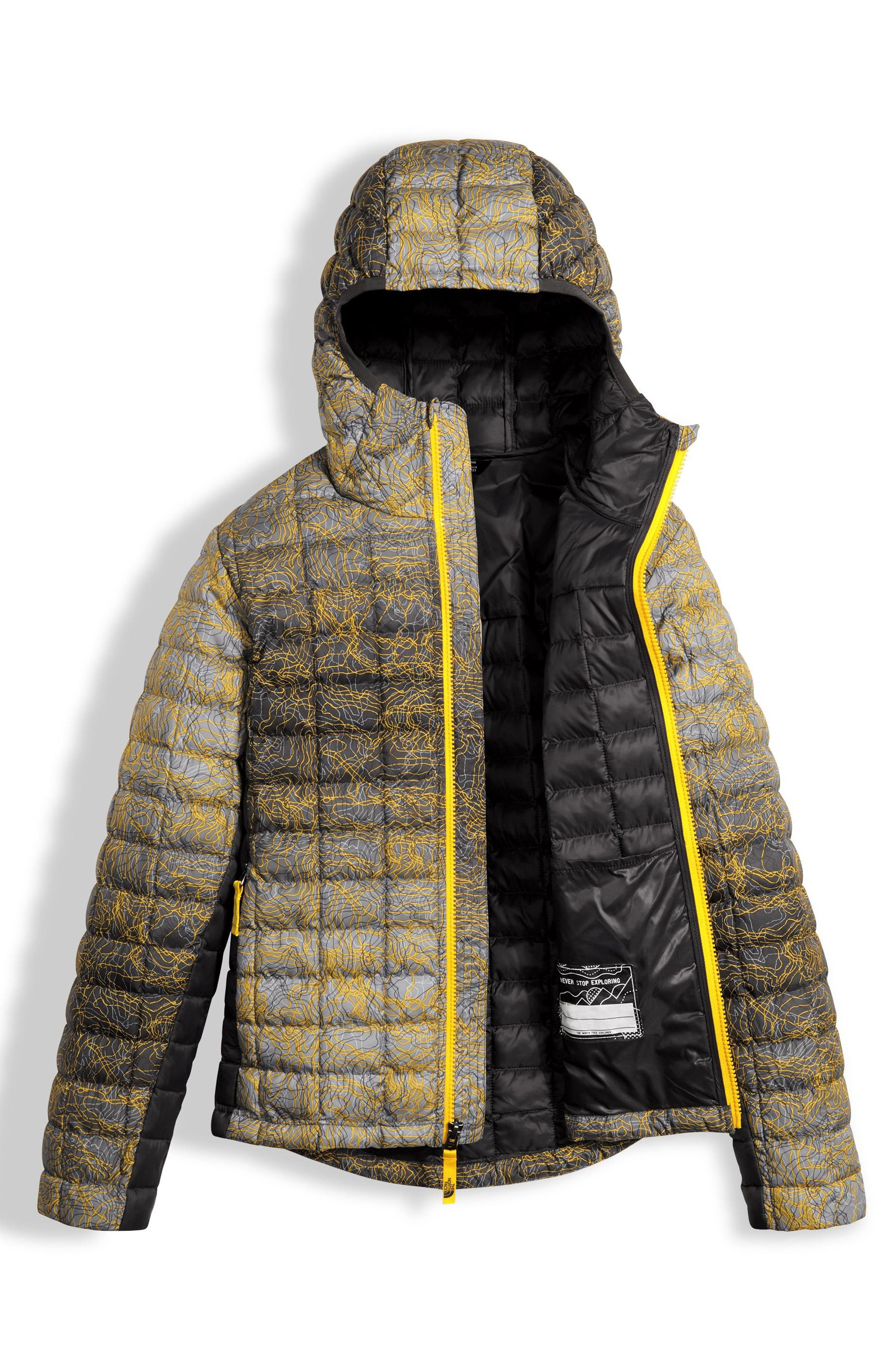 Alternate Image 3  - The North Face ThermoBall™ PrimaLoft® Hooded Jacket (Big Boys)