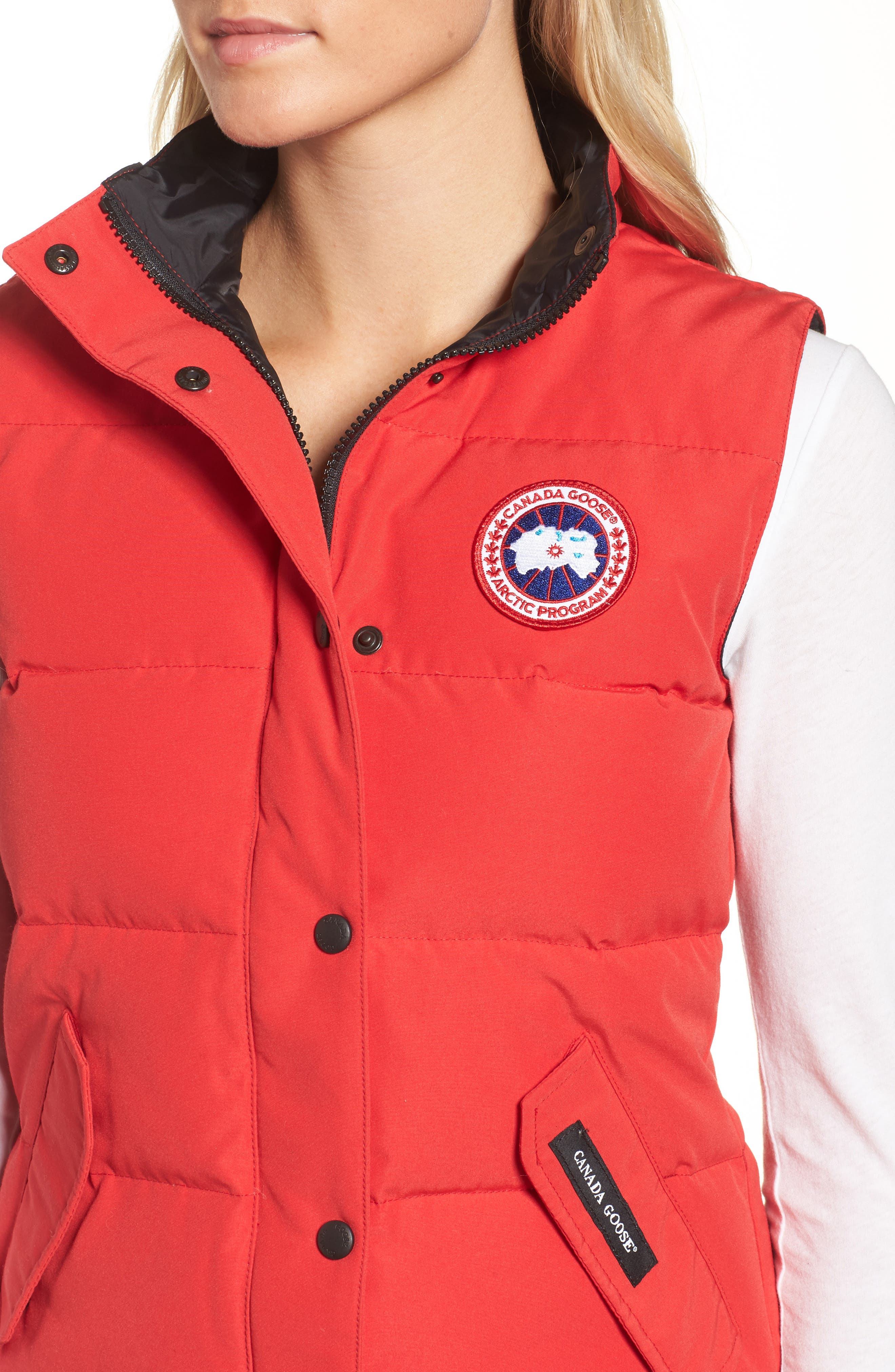 Alternate Image 4  - Canada Goose 'Freestyle' Slim Fit Down Vest