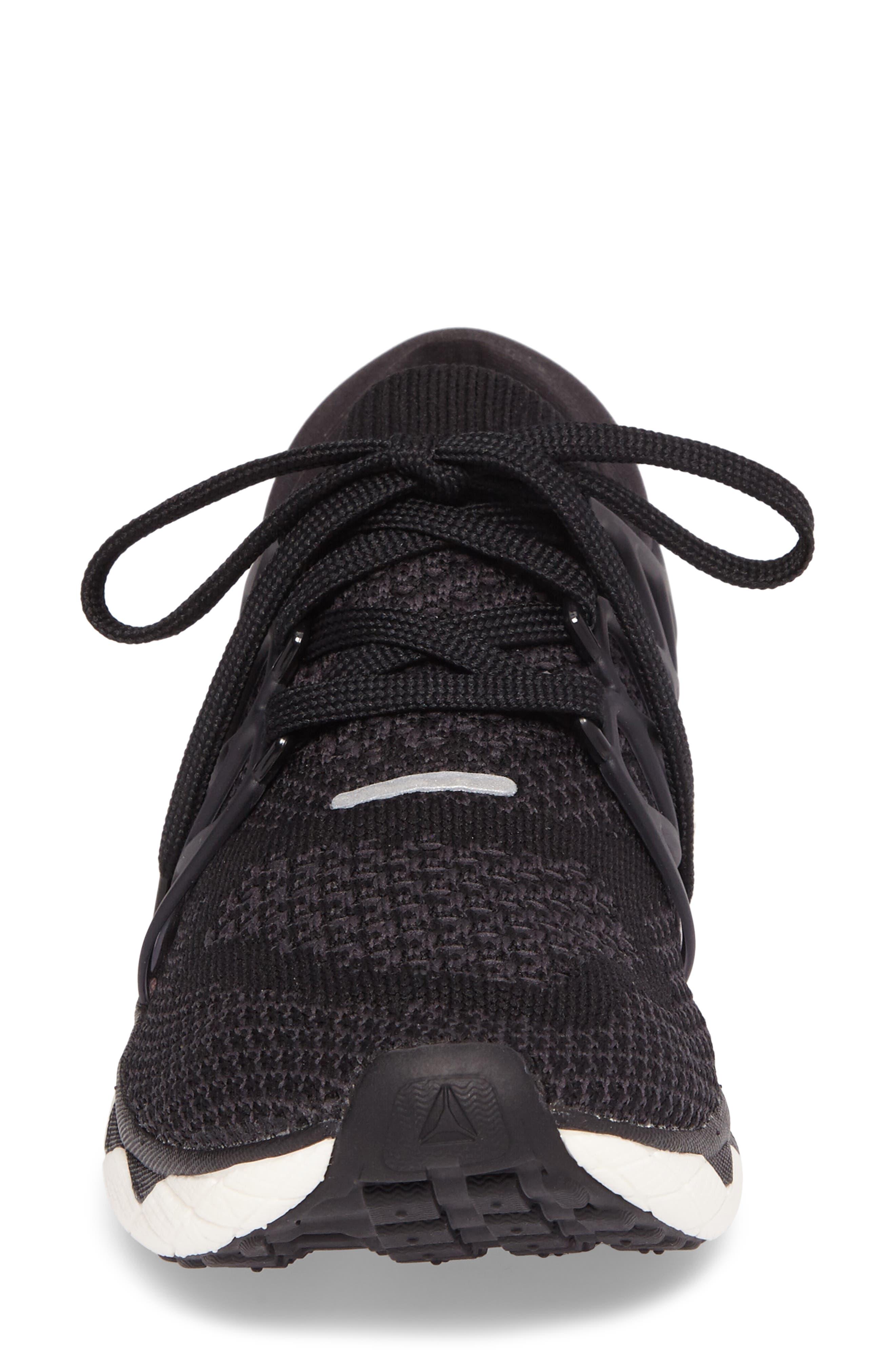 Floatride Run Running Shoe,                             Alternate thumbnail 4, color,                             Black/ Gravel/ White