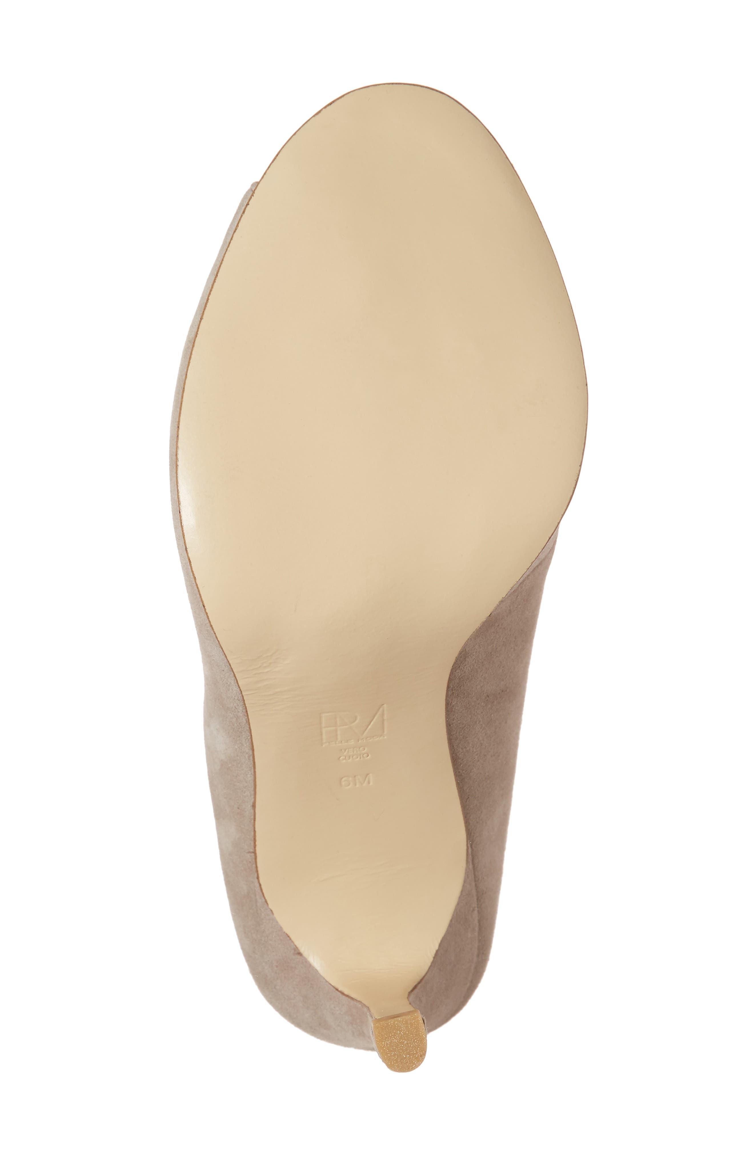 Alternate Image 6  - Pelle Moda Elvia Peep Toe Pump (Women)