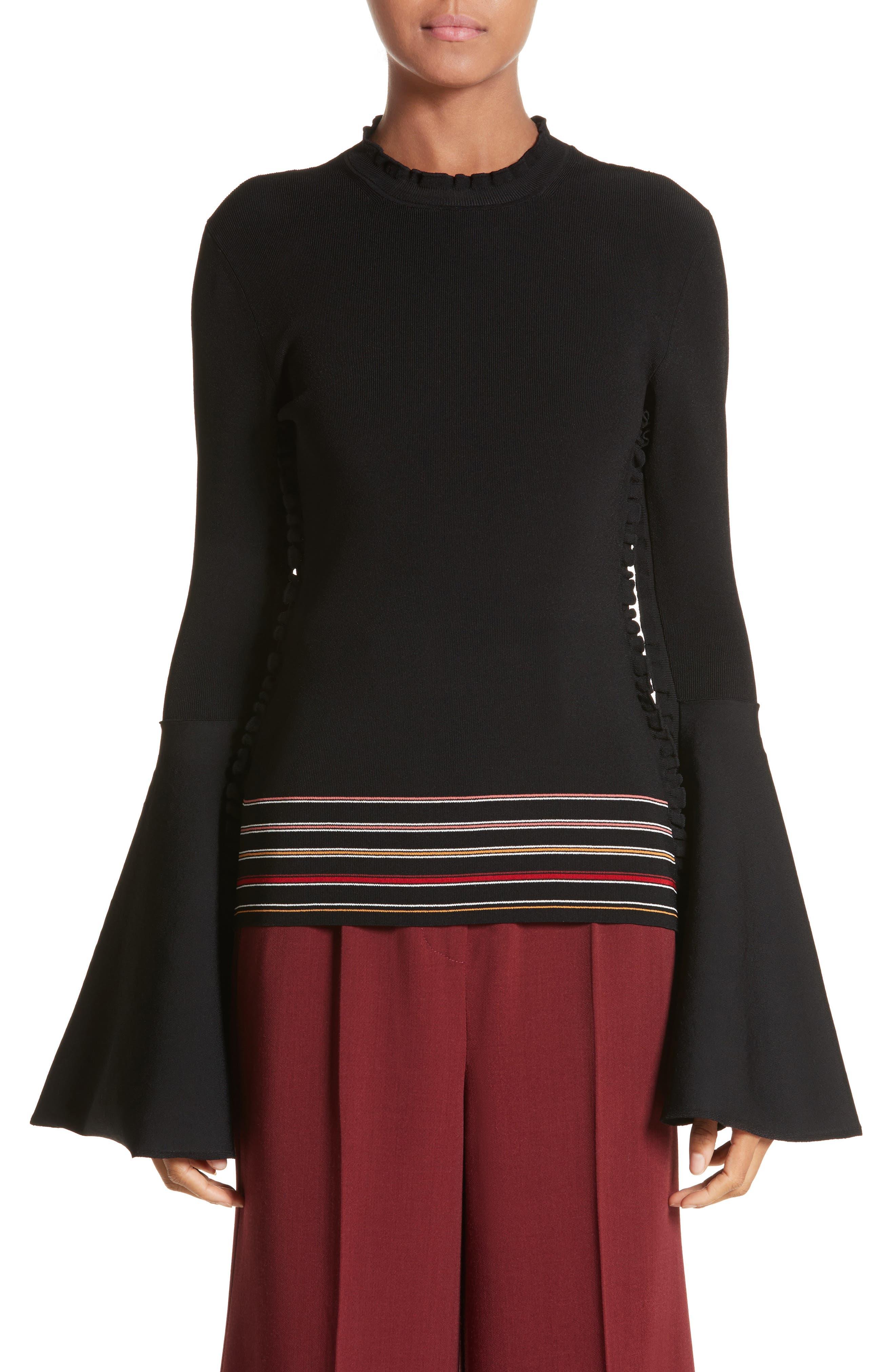 Roksanda Midori Bell Sleeve Sweater