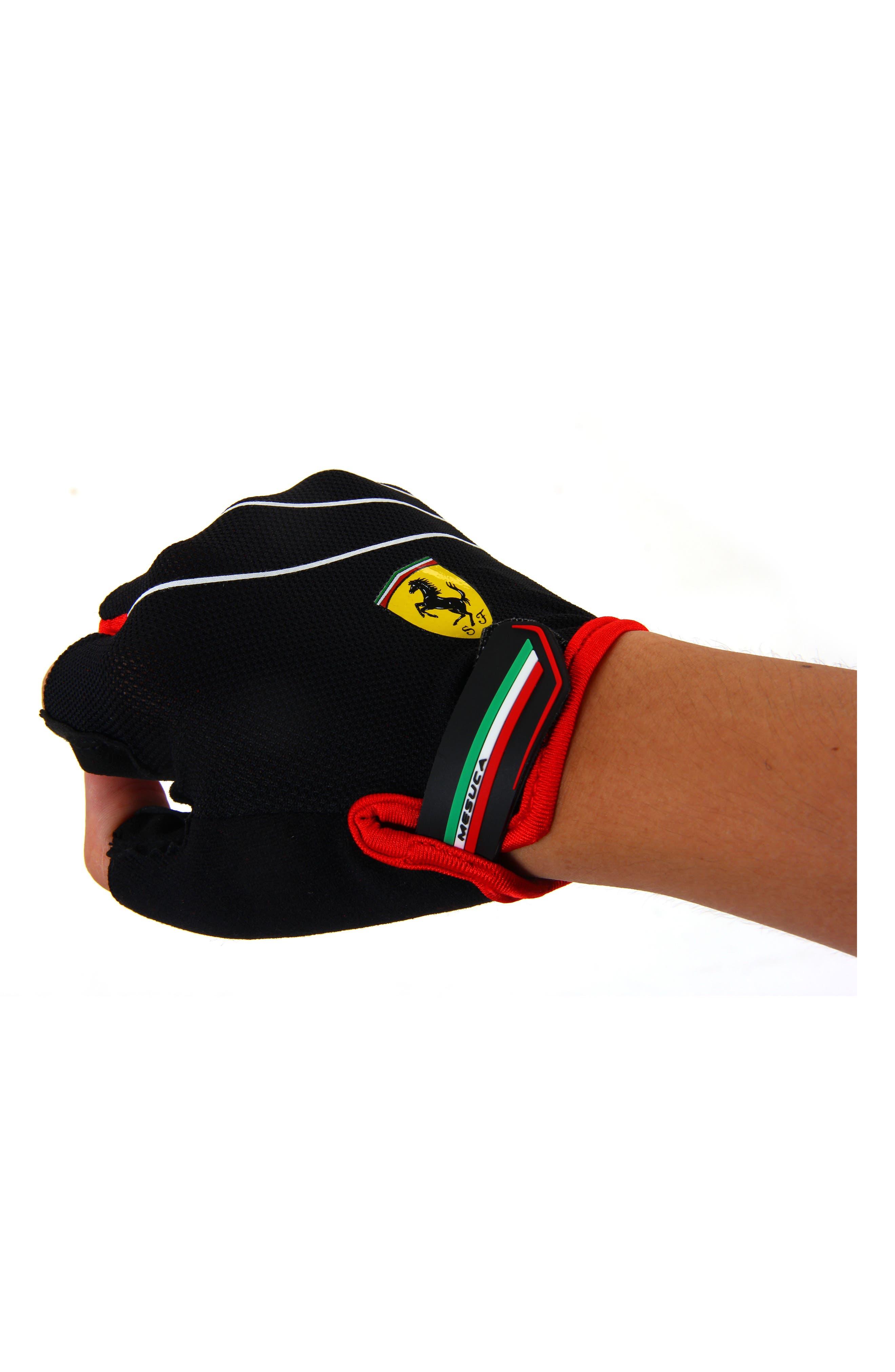 Alternate Image 1 Selected - Ferrari Sport Fingerless Gloves