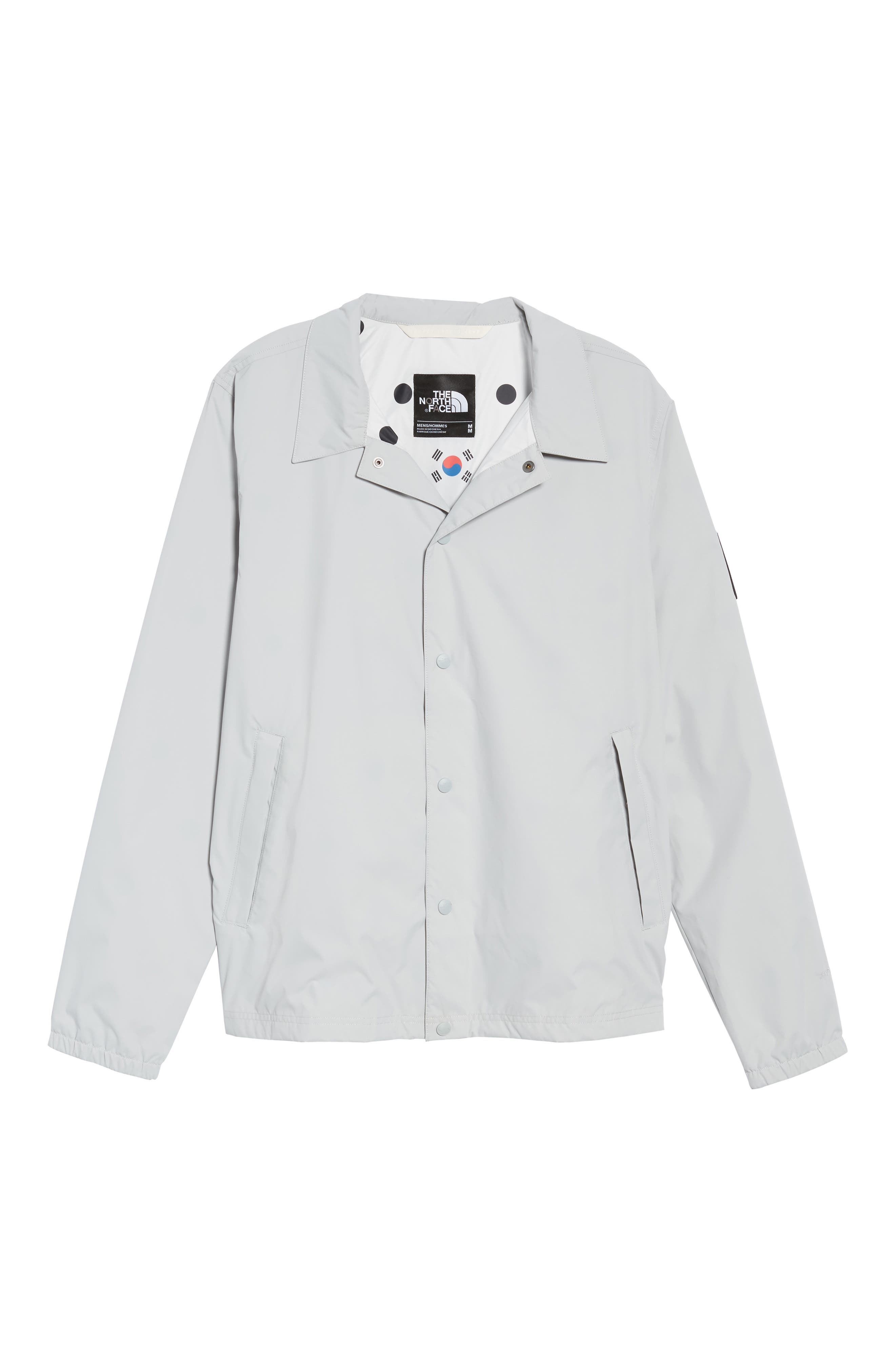 International Collection Coach Jacket,                             Alternate thumbnail 6, color,                             High Rise Grey