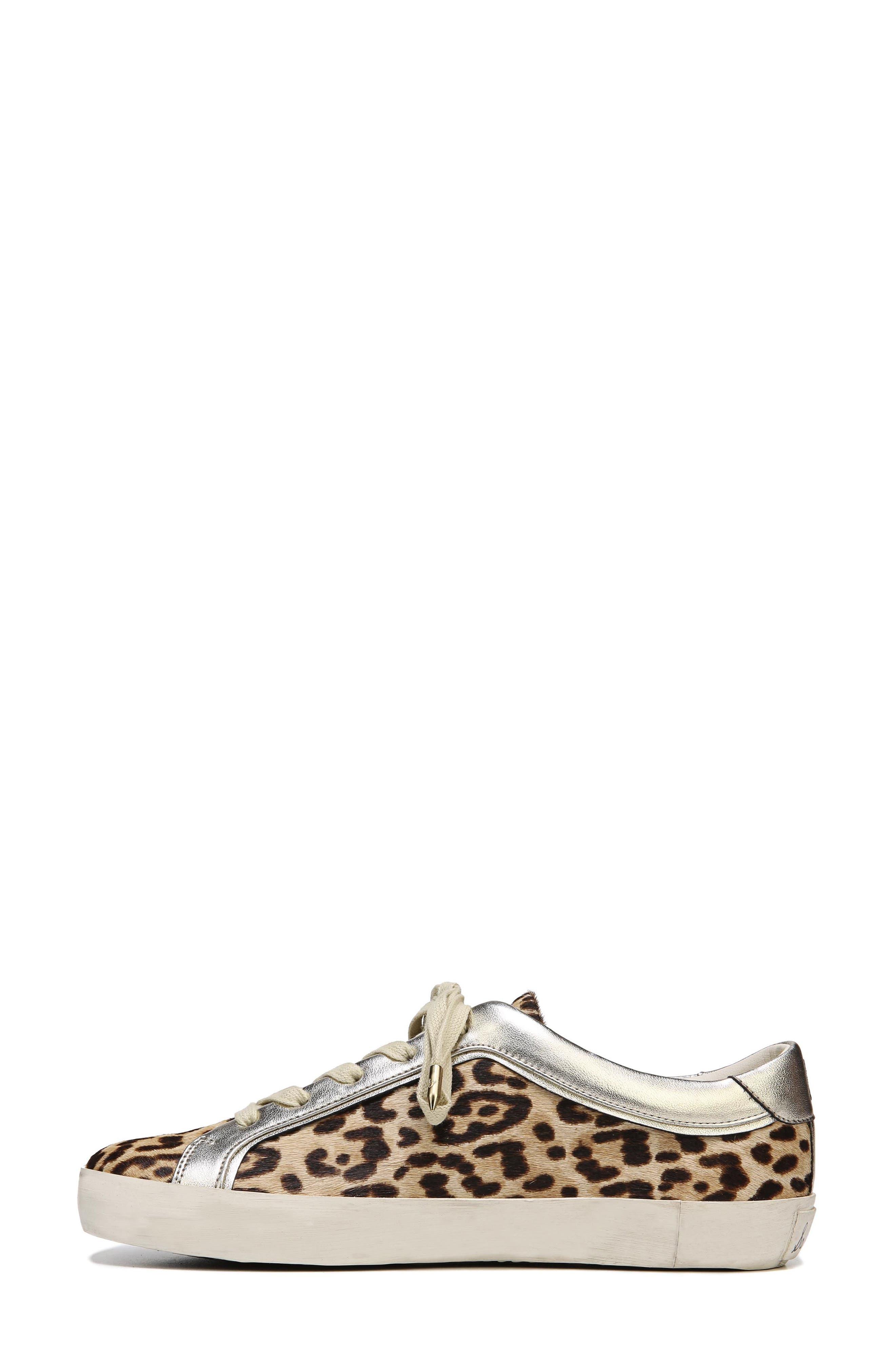 Britton 2 Sneaker,                             Alternate thumbnail 4, color,                             Leopard Brahma Hair