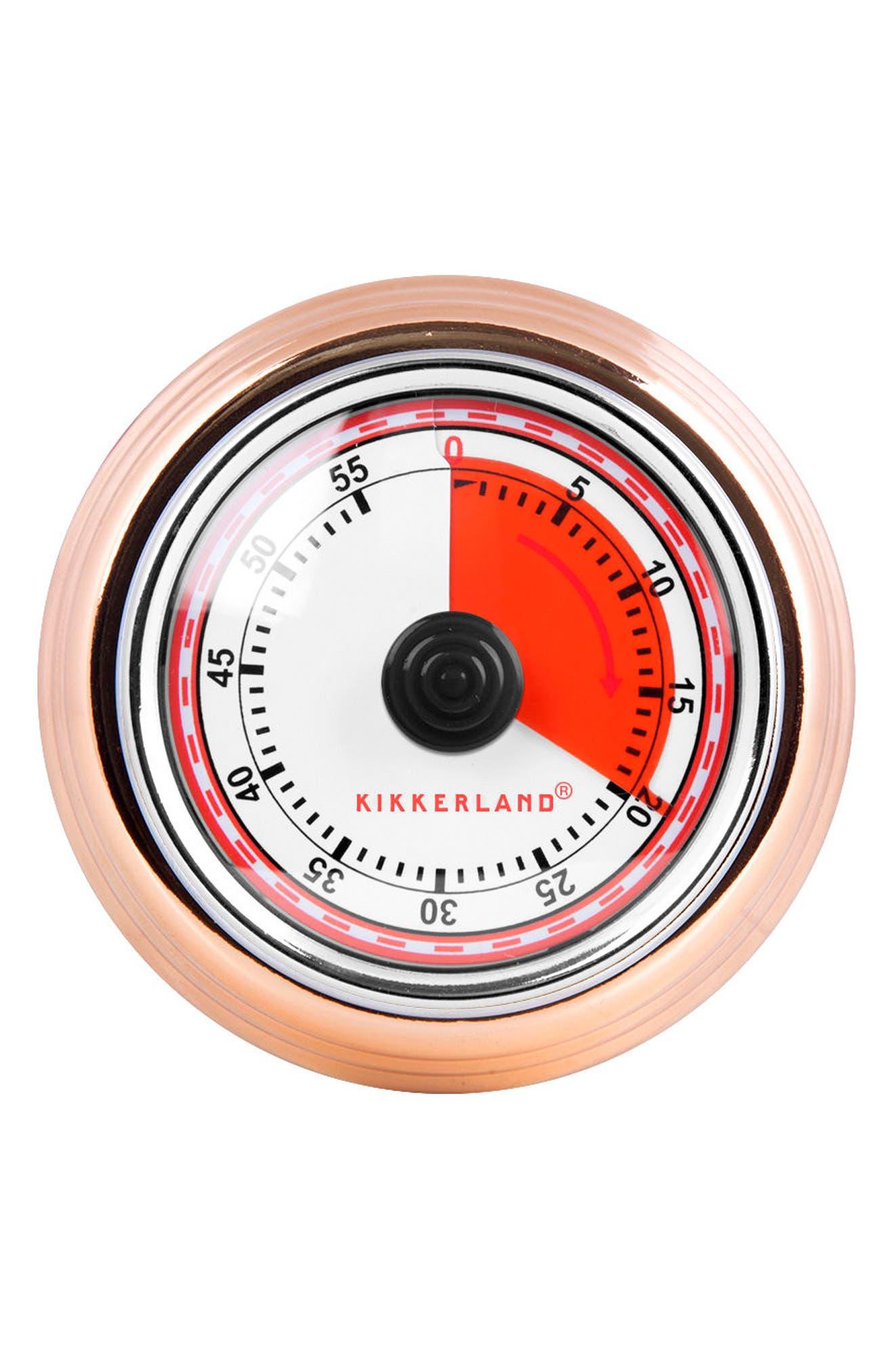 Magnetic Kitchen Timer,                             Main thumbnail 1, color,                             Copper