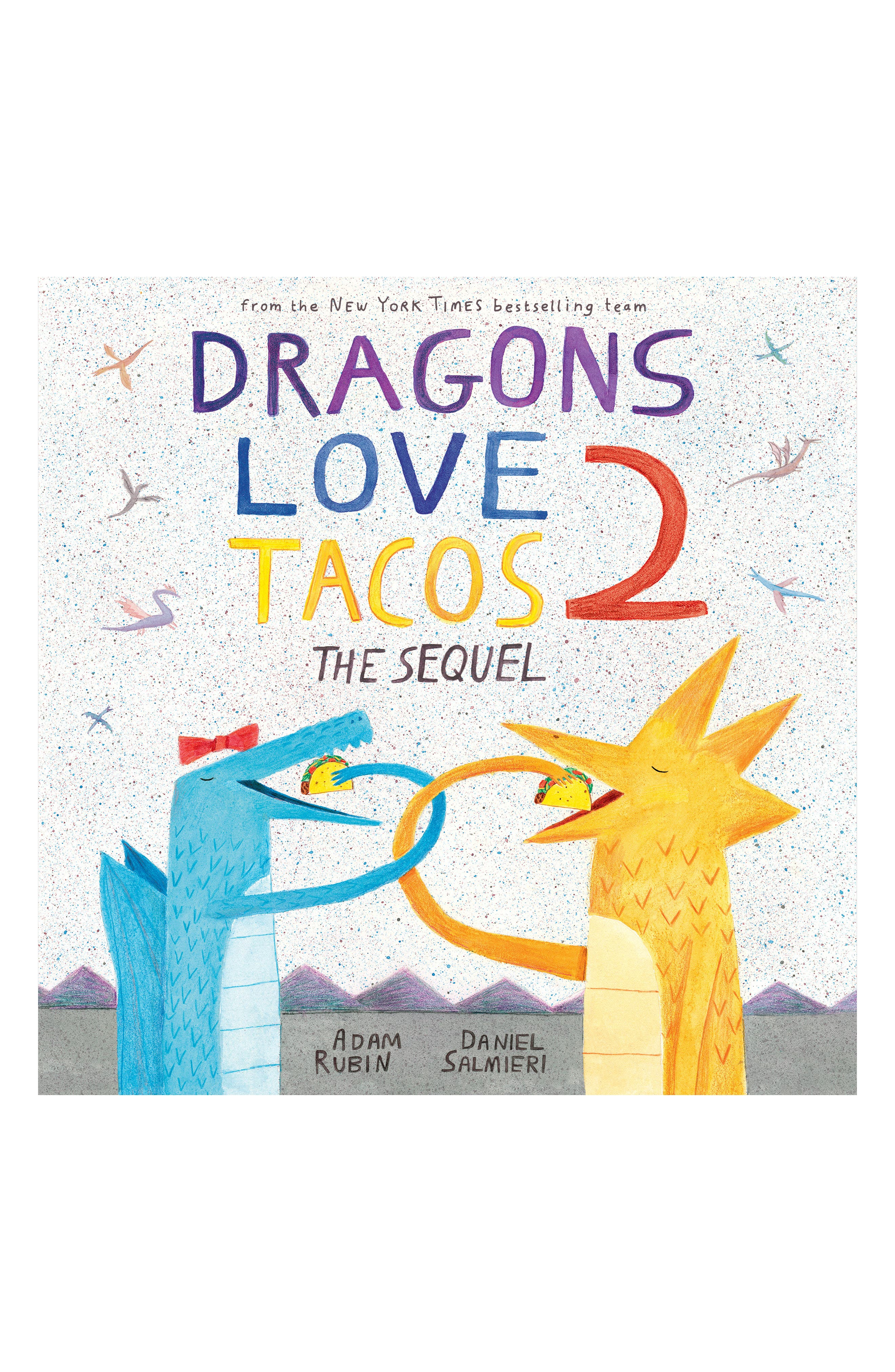 'Dragons Love Tacos 2: The Sequel' Board Book,                         Main,                         color, White