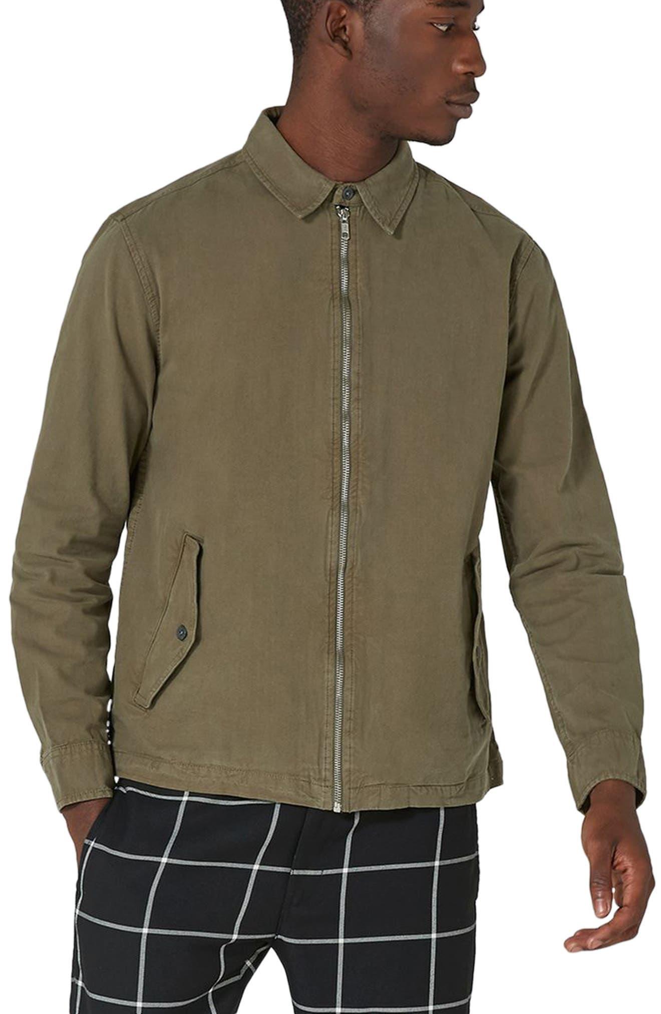 Main Image - Topman Zip Front Shirt Jacket