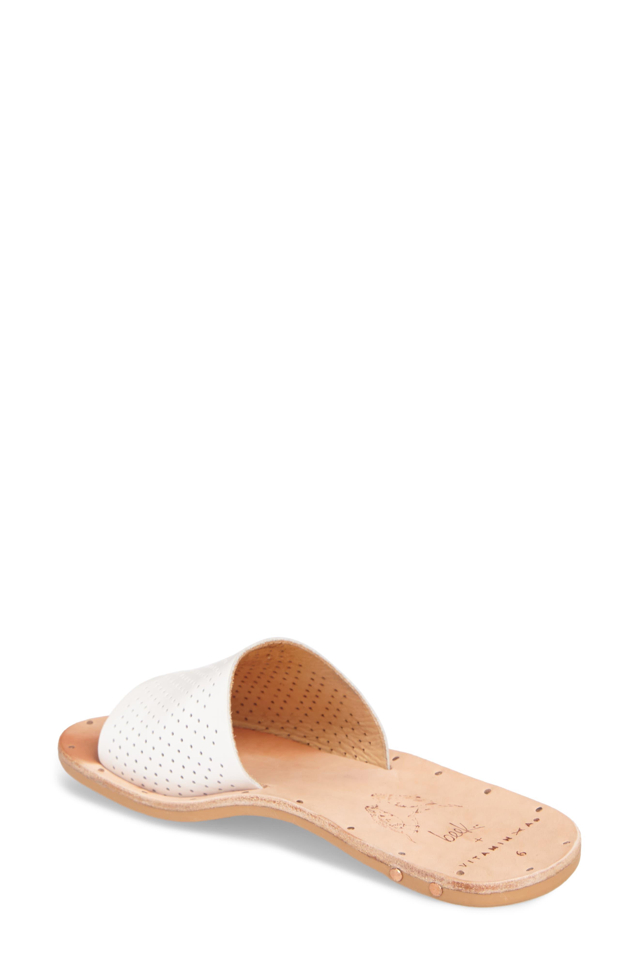 Mockingbird Sandal,                             Alternate thumbnail 2, color,                             White Perf/ Tan