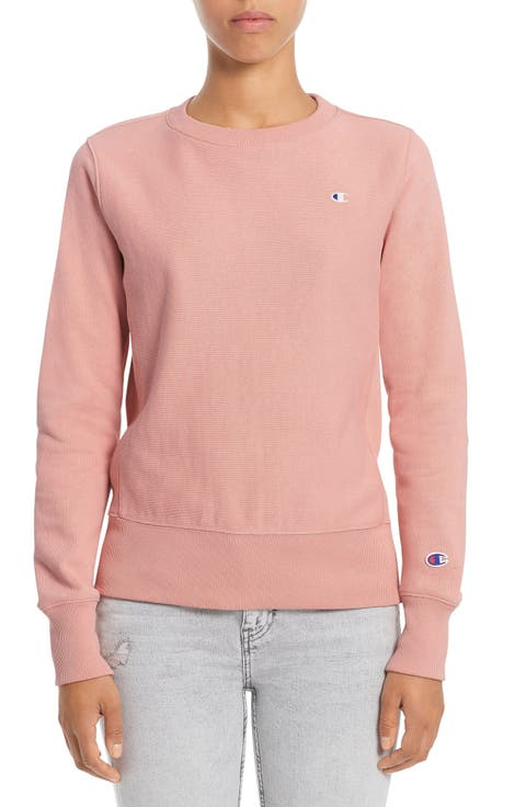Champion Reverse Weave® French Terry Crewneck Sweatshirt. Click to  enlargeClick ... 54c53a8ff21a