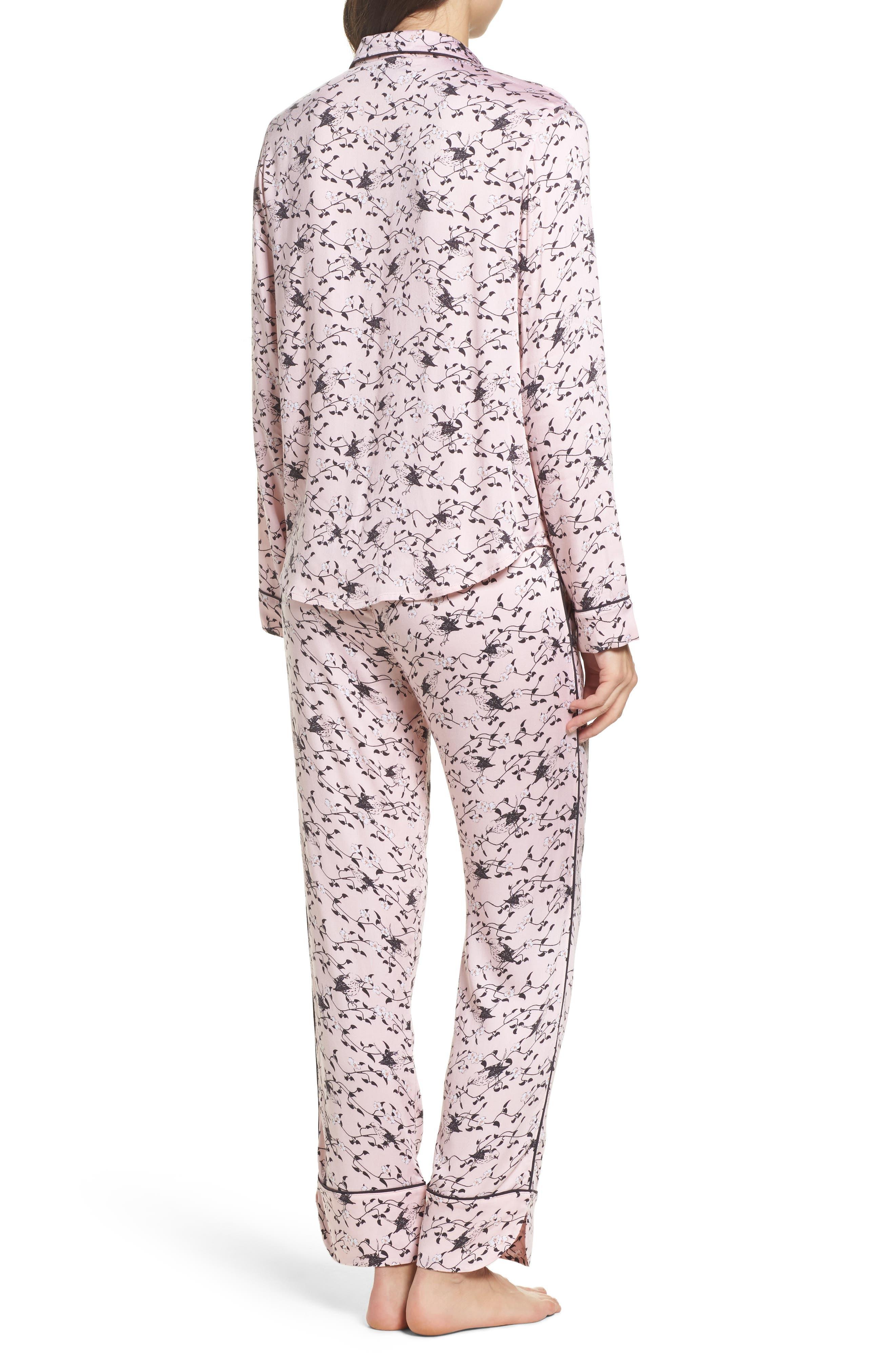 Alternate Image 2  - PJ Salvage Jersey Pajamas