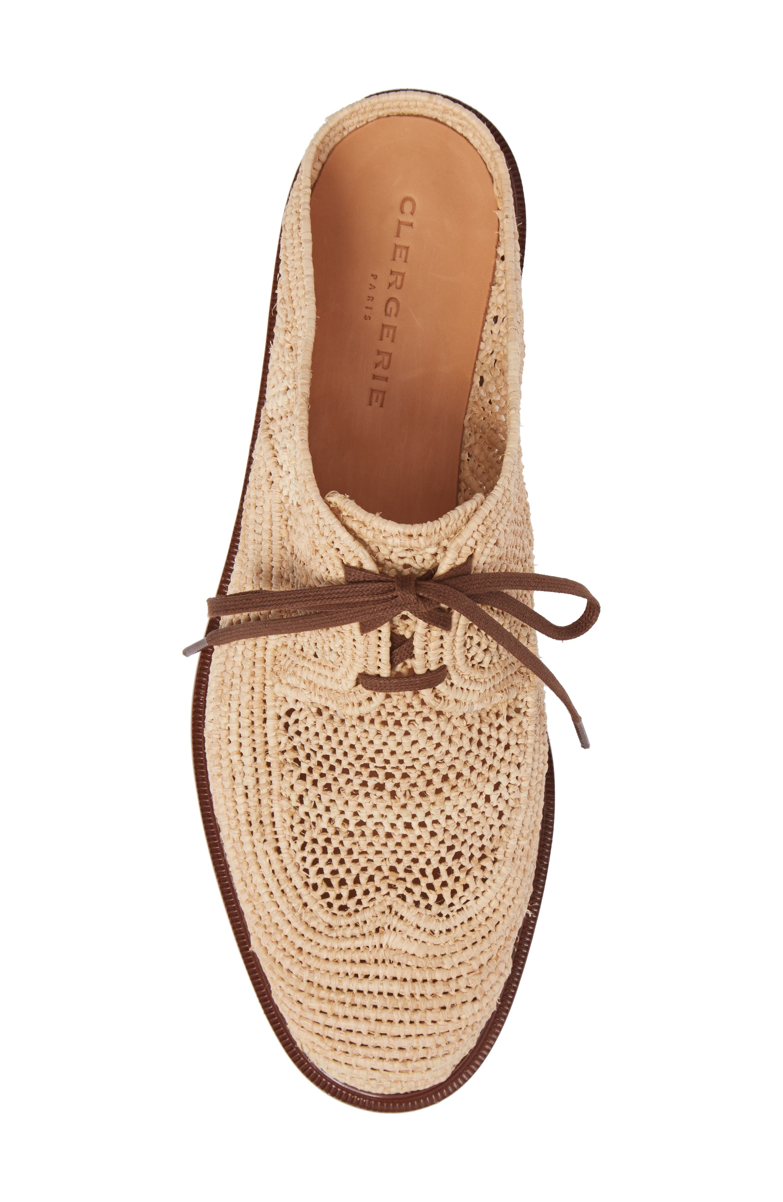 Alternate Image 5  - Robert Clergerie Jaly Woven Loafer Mule (Women)