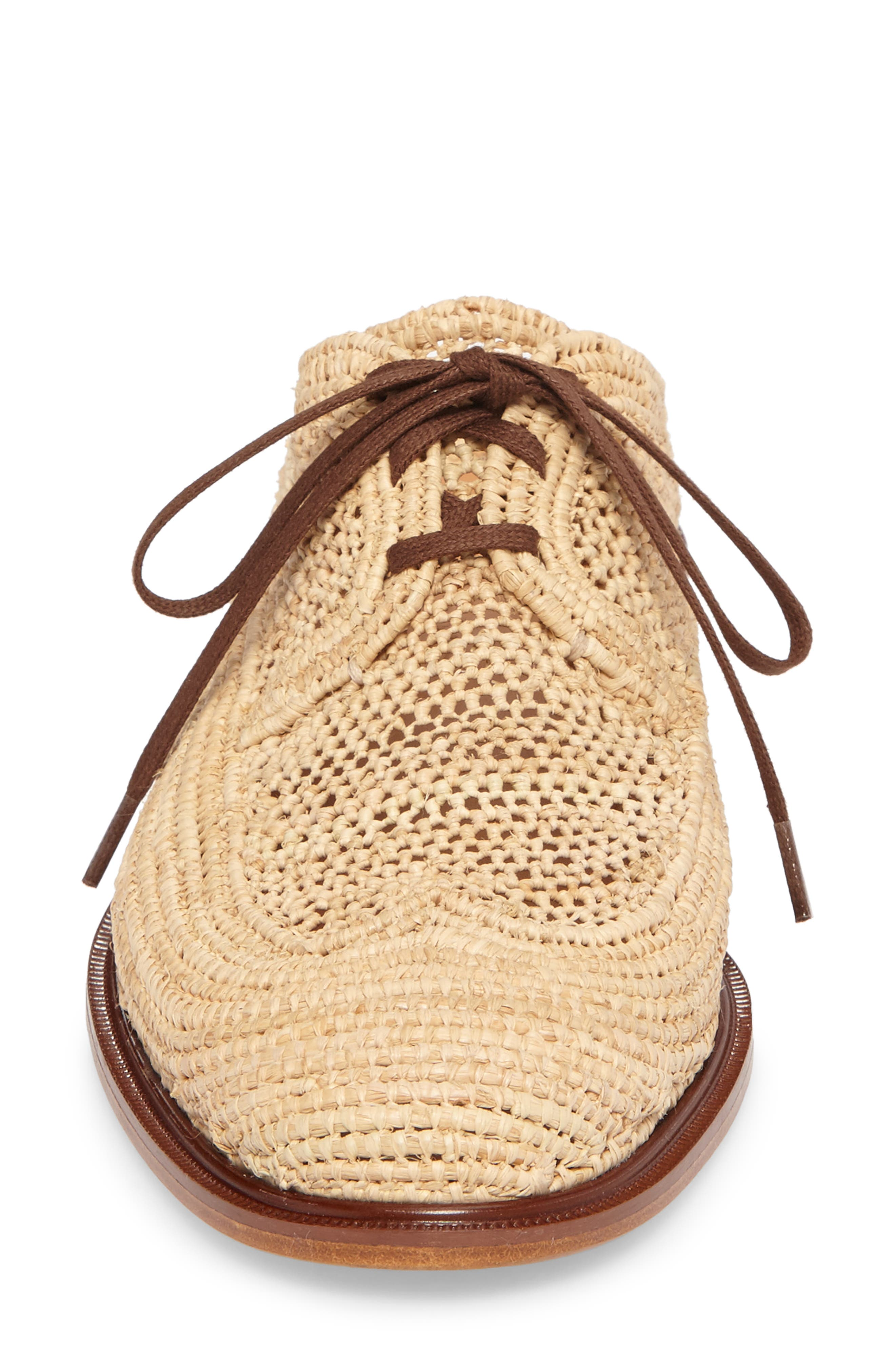 Alternate Image 4  - Robert Clergerie Jaly Woven Loafer Mule (Women)